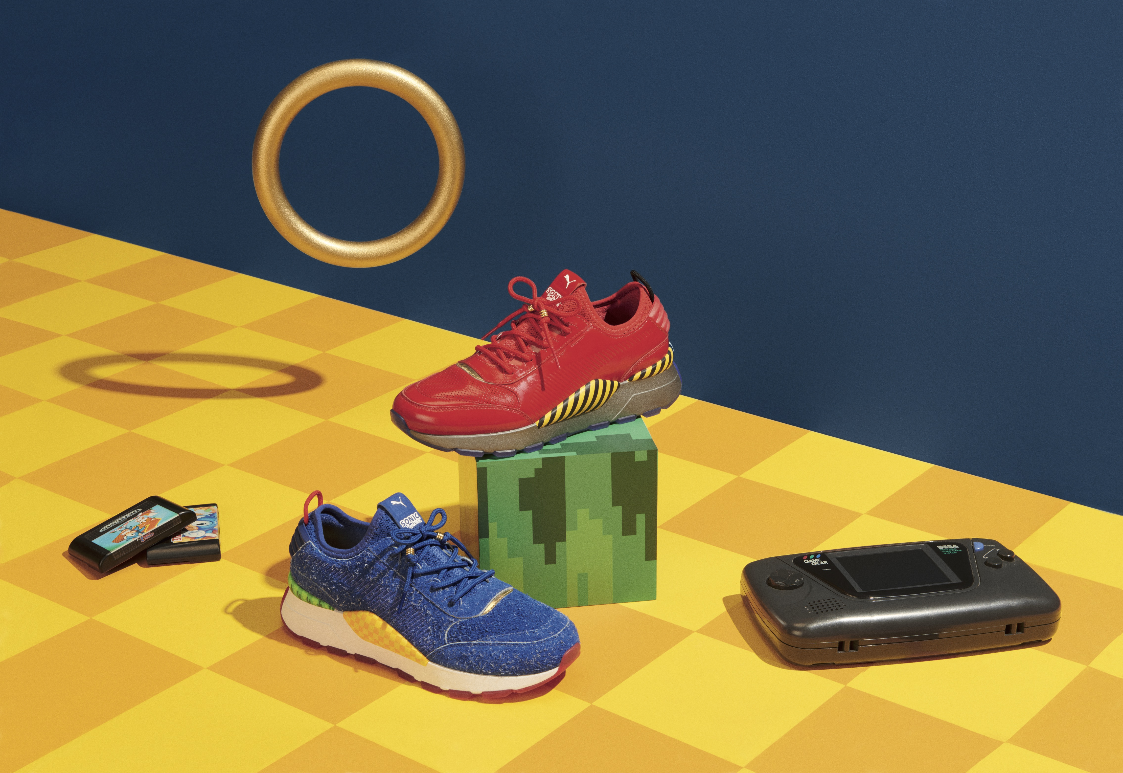 4d6894c390e9c1 Puma s Sonic the Hedgehog sneaker collection is just subtle enough to work