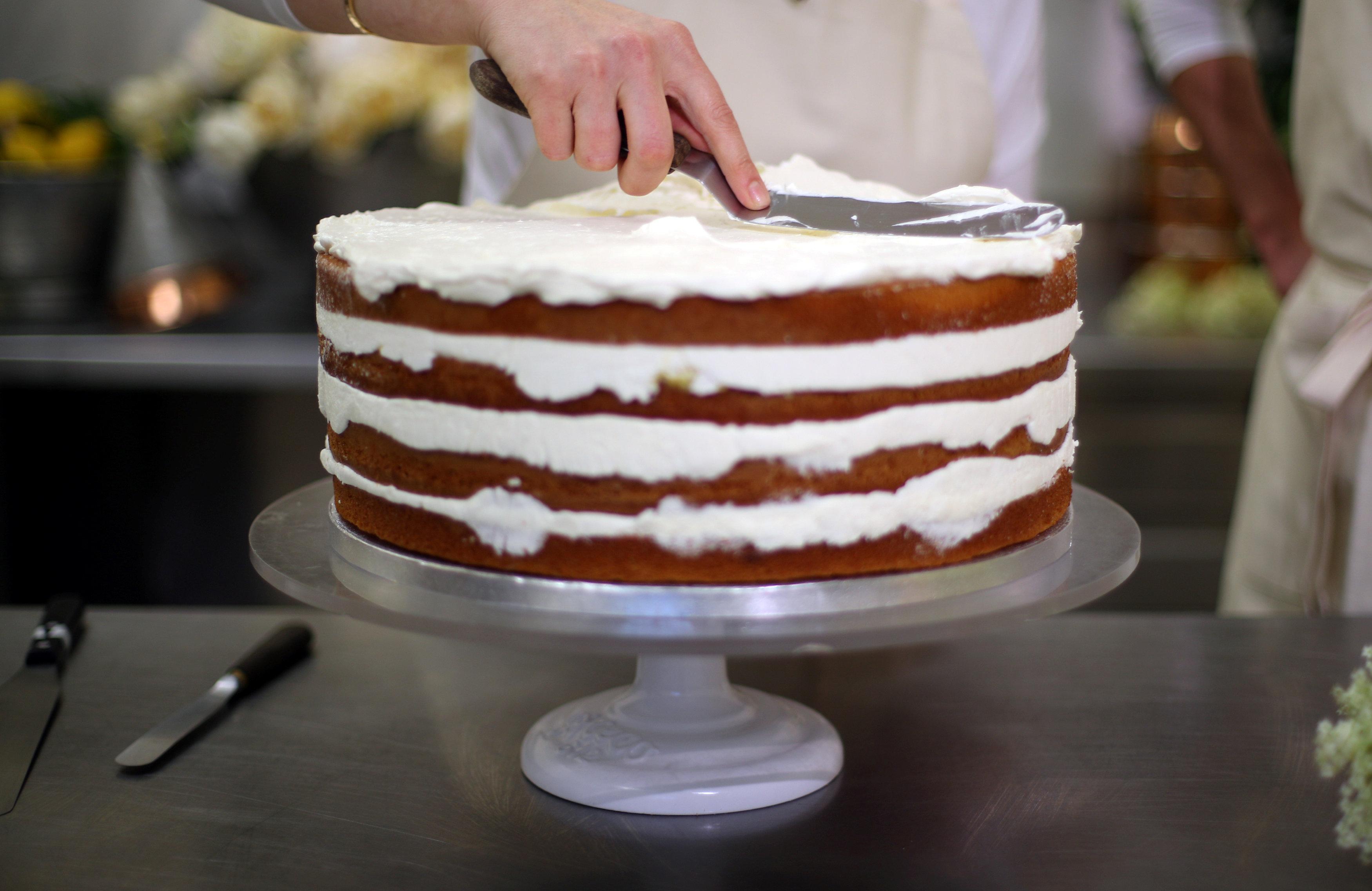 Ms. Meghan Markle's Wedding Cake