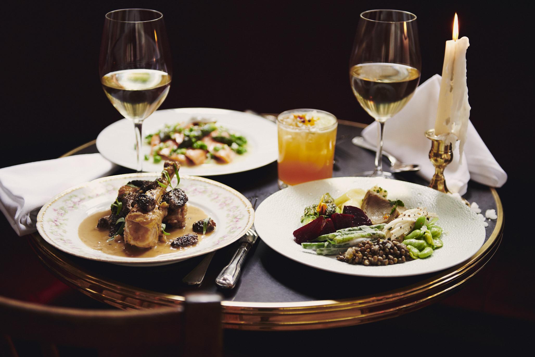 Food at Bistro Pierre Lapin