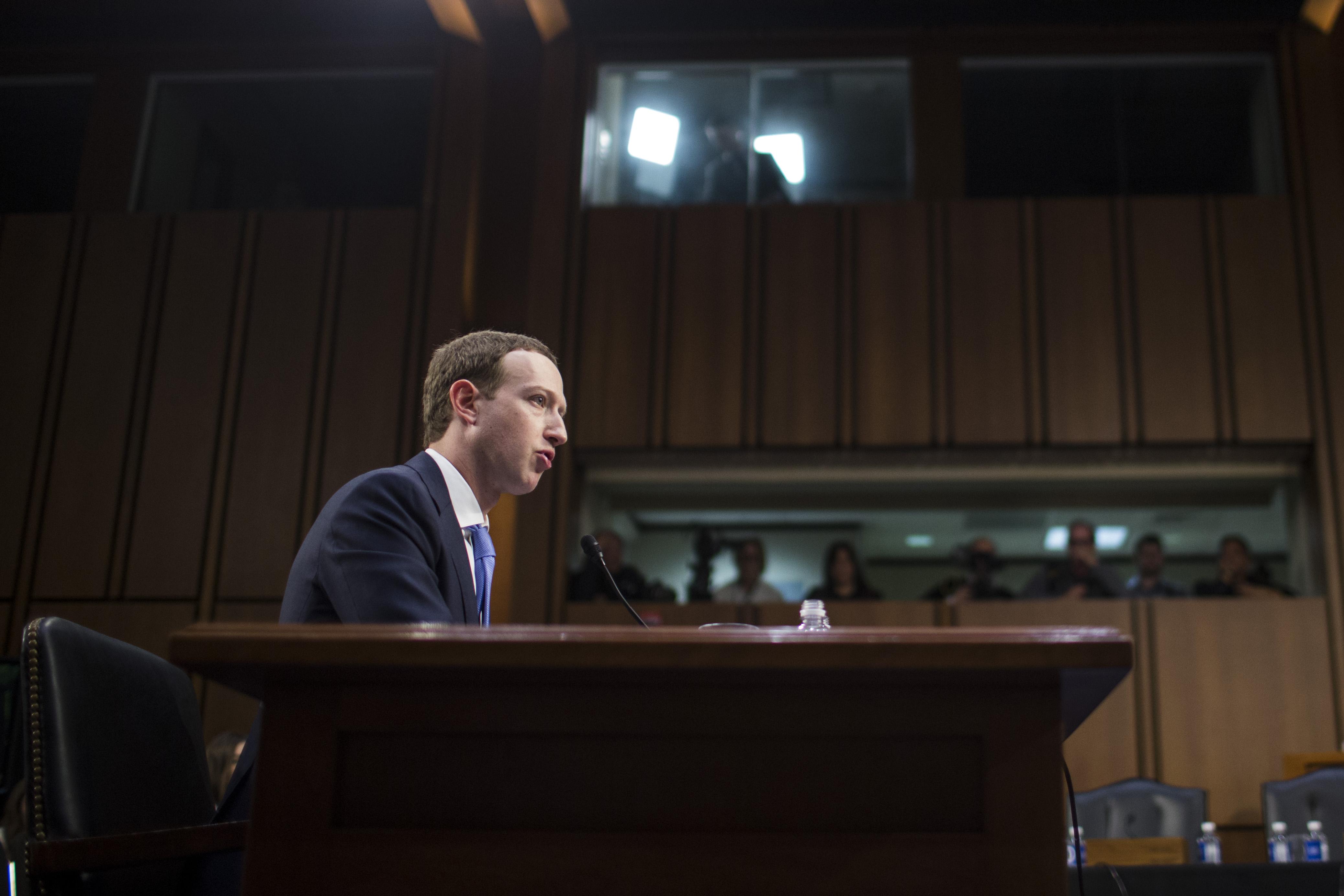 Watch Mark Zuckerberg's slightly contentious meeting with EU regulators  about Facebook's data practices