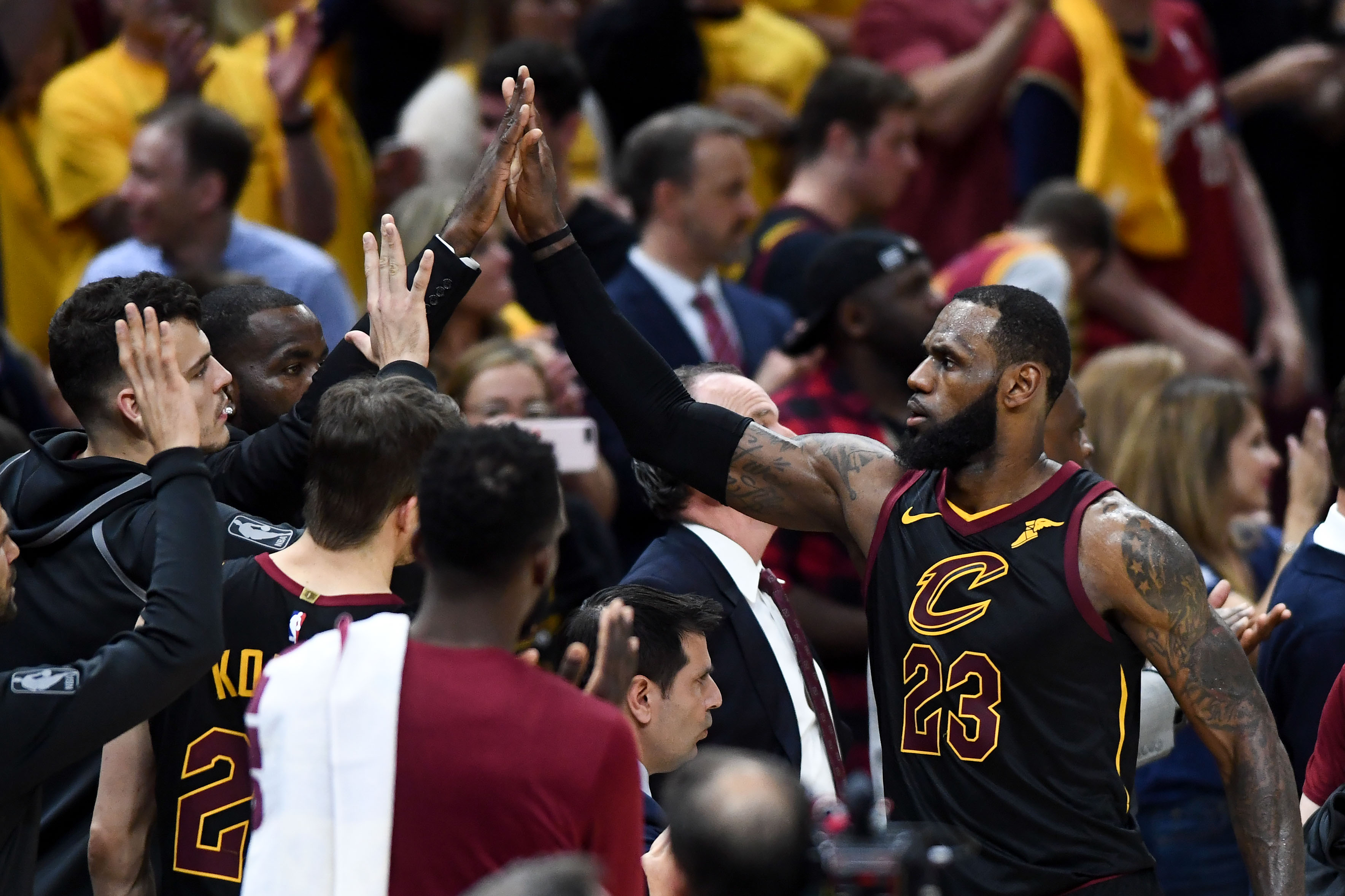 dc94d51506d6 The Unknowable Cavs Tie Up the Eastern Conference Finals - The Ringer