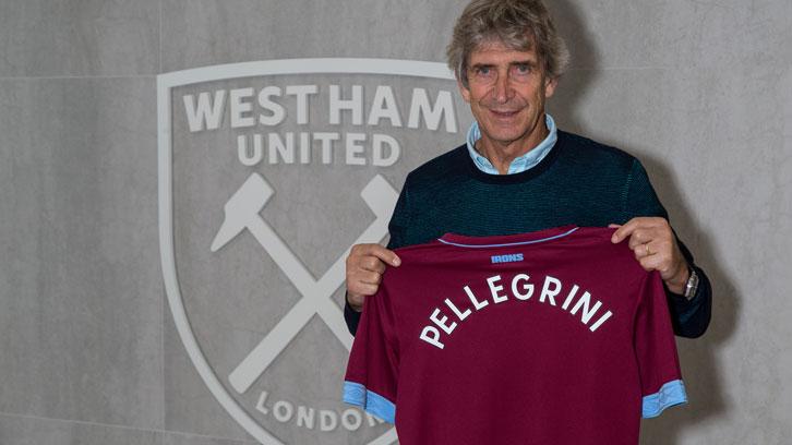 Manuel Pellegrini is the new West Ham United manager