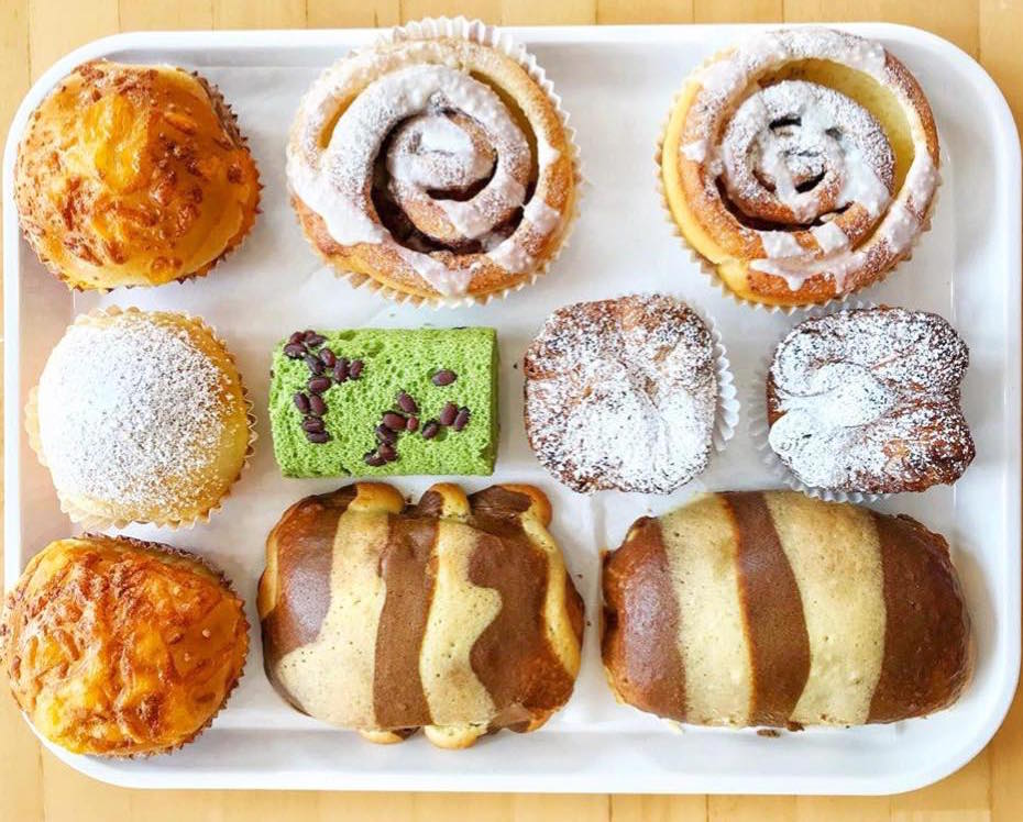 Pastries from 85C Bakery Cafe