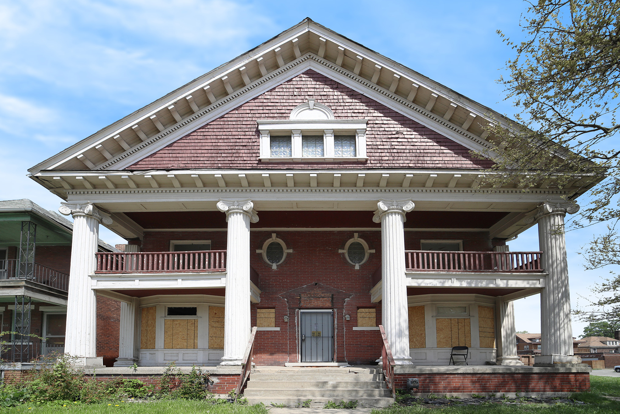Restore this Greek Revival home to its