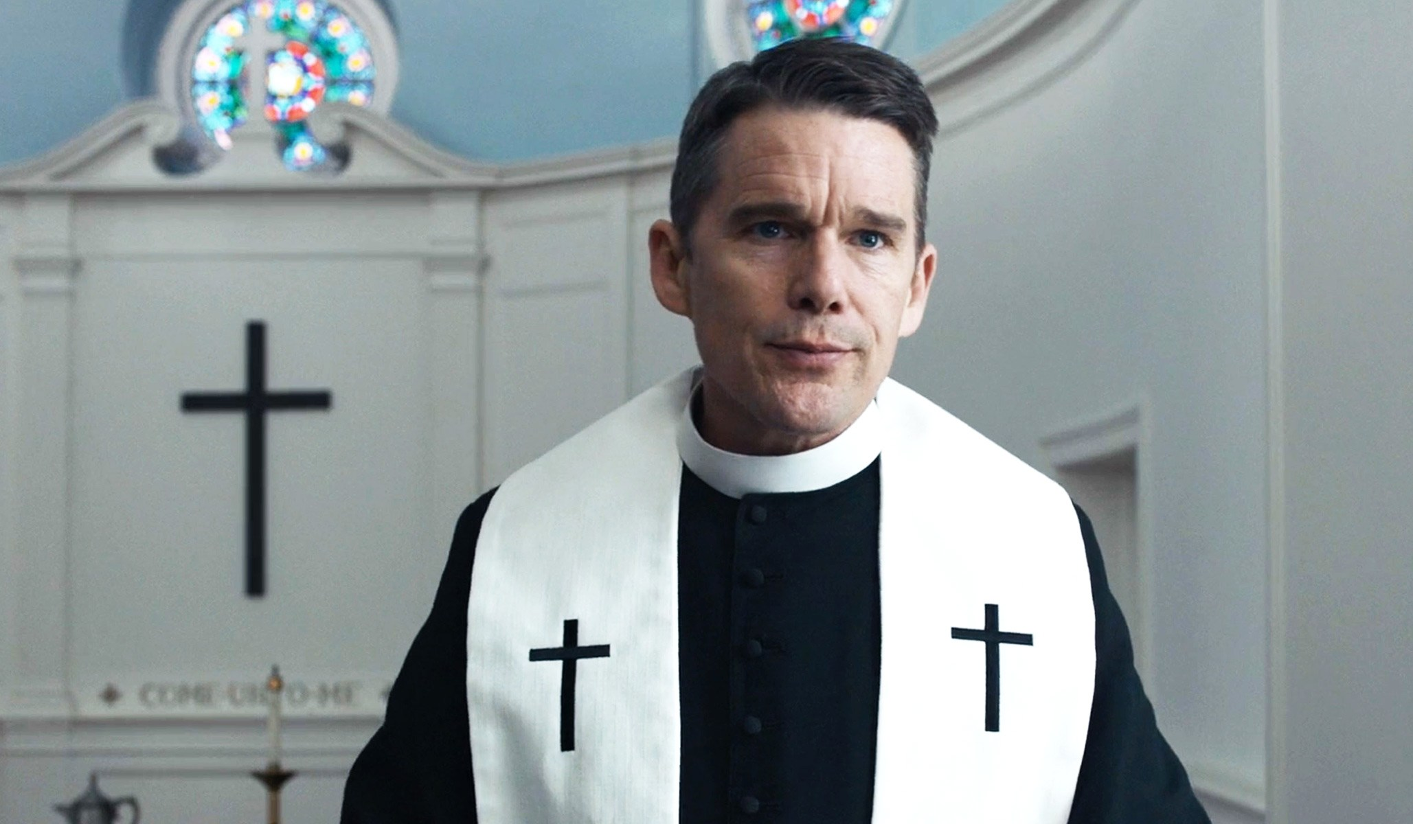 Ethan Hawke turns in a stunning performance in First Reformed