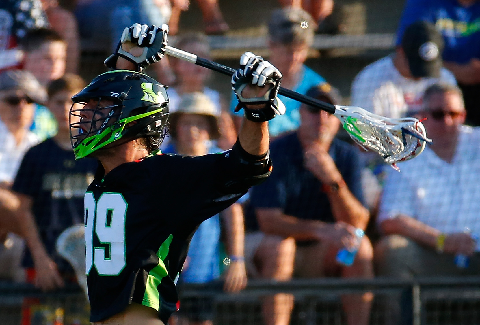 Professional lacrosse player Paul Rabil in 2015