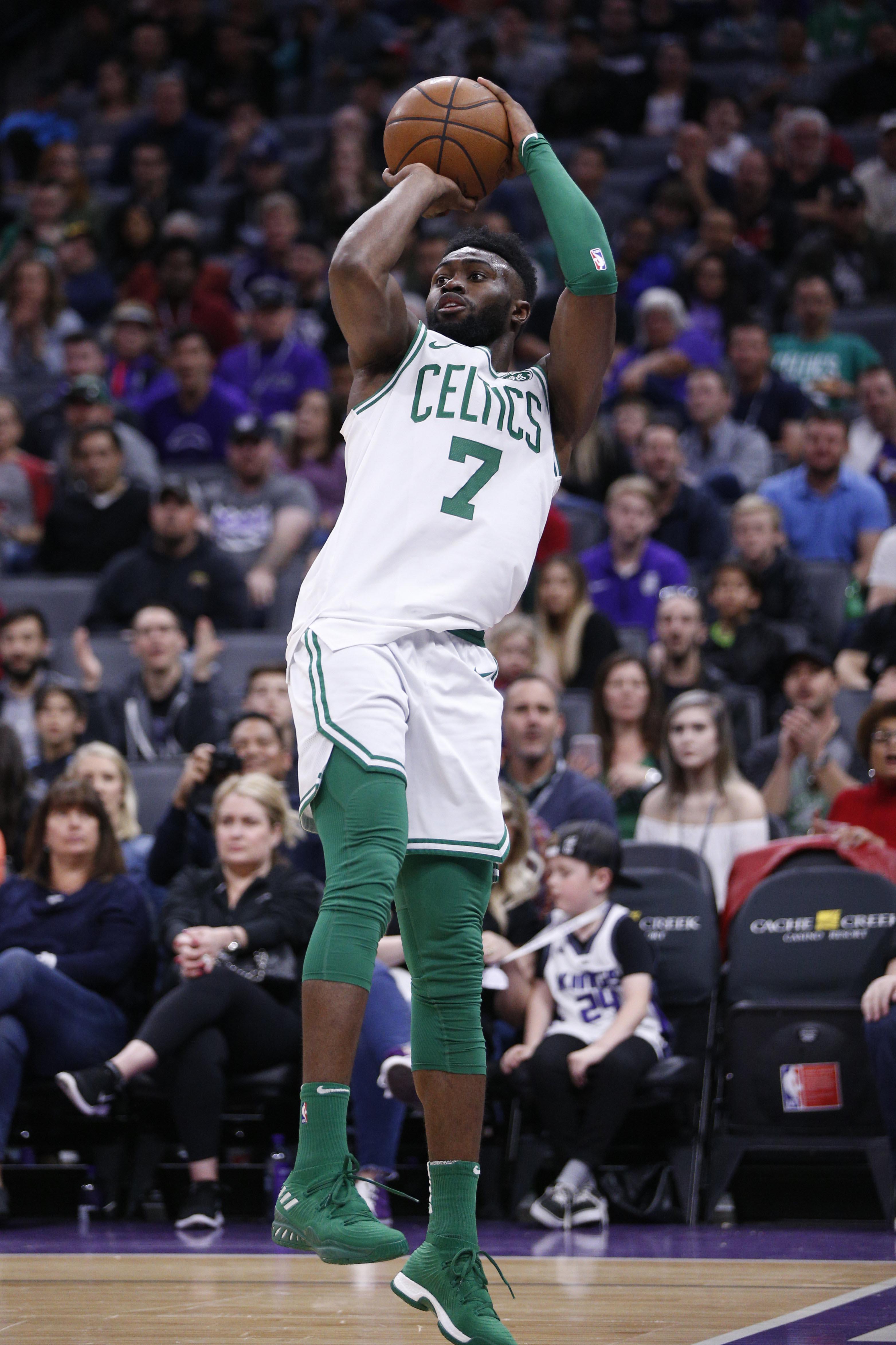 NBA: Boston Celtics at Sacramento Kings