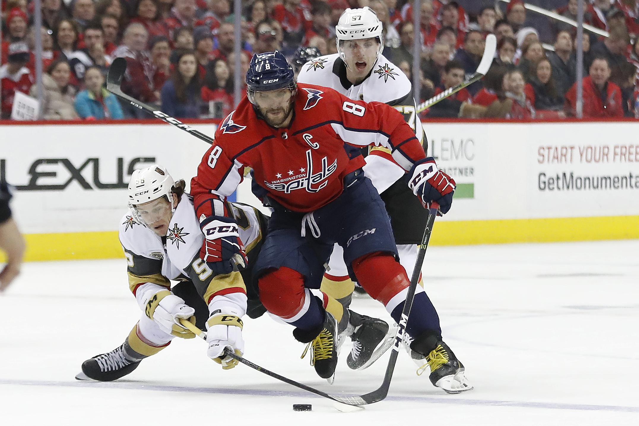 NHL: Vegas Golden Knights at Washington Capitals