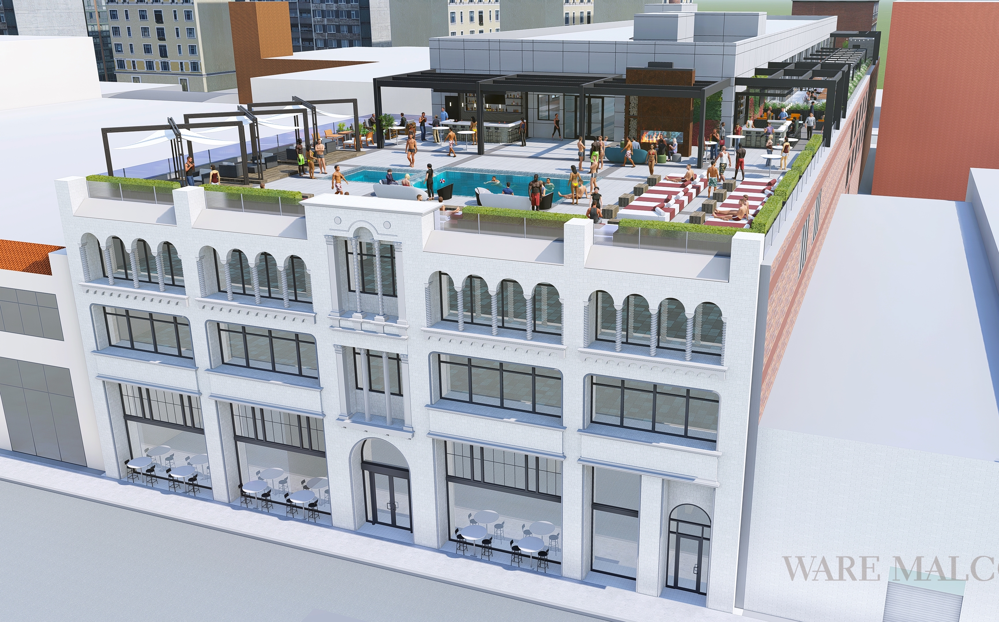 Ex-Bears plan coworking space, private club in old Motor Row building
