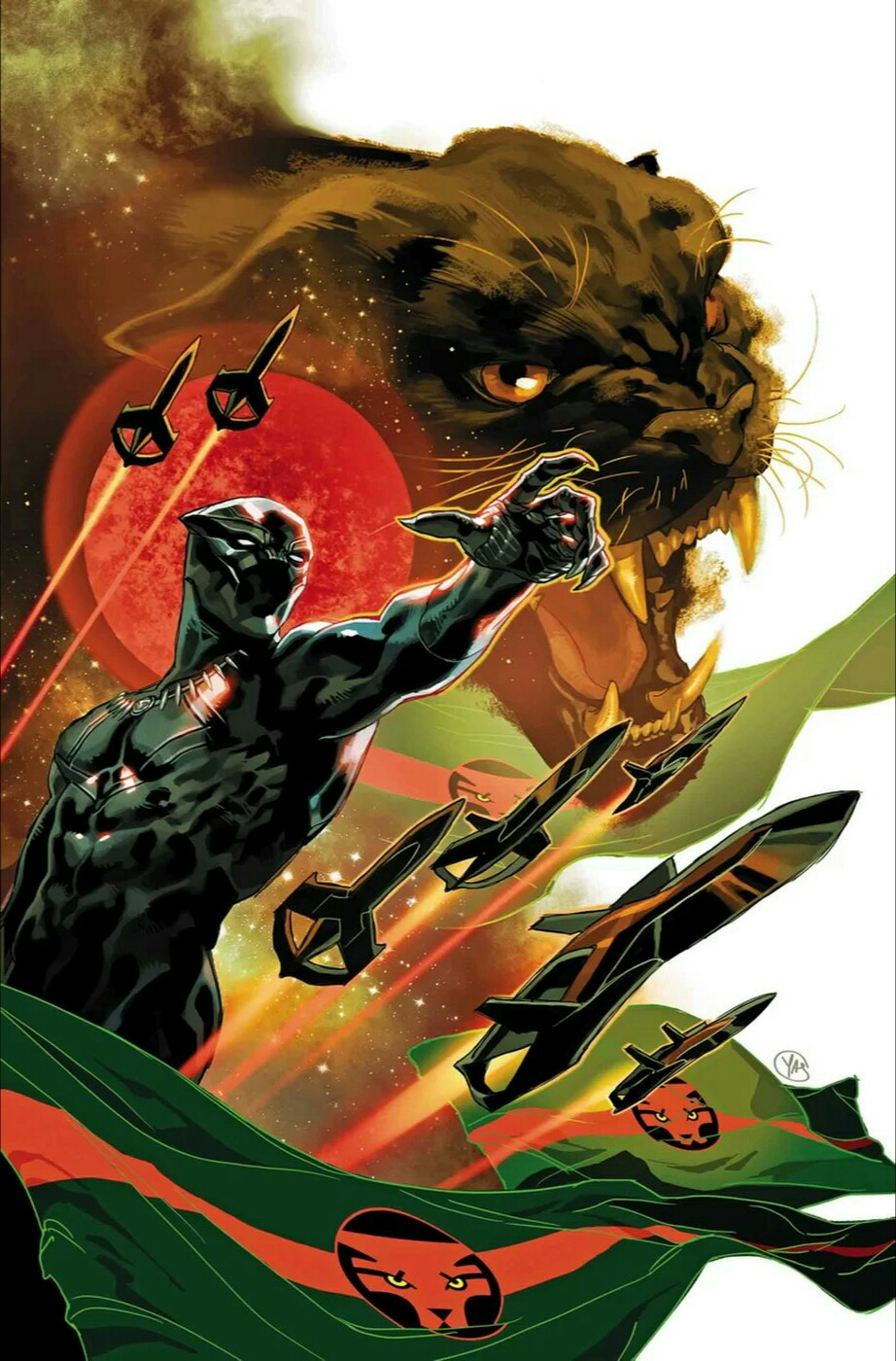 Black Panther #1 finally brings the spirit of the movie characters to the comics