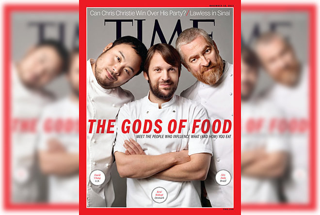 Time Editor Howard Chua-Eoan Explains Why No Female Chefs Are 'Gods of Food'