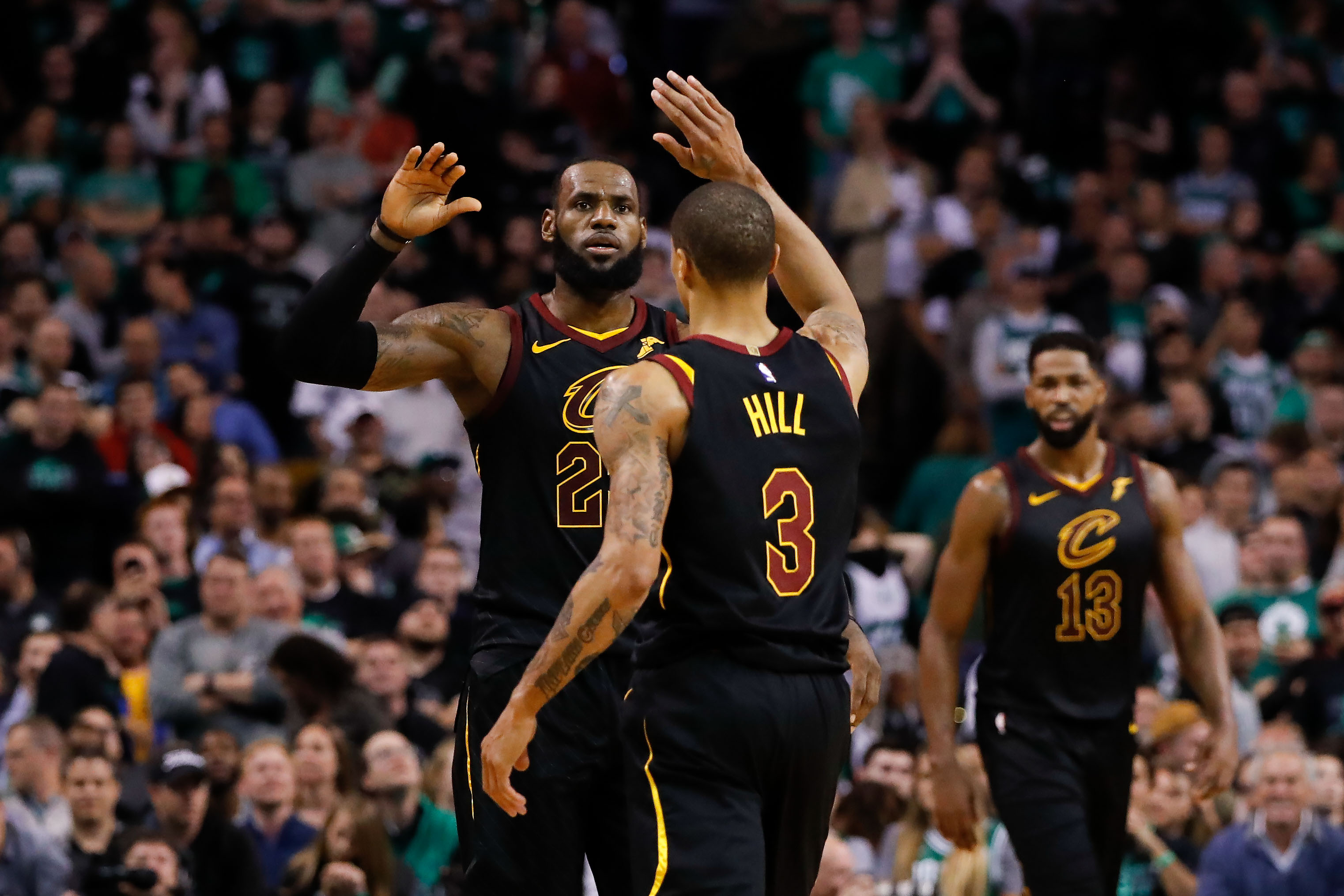 Cavaliers beat Celtics in Game 7 to advance to the NBA Finals