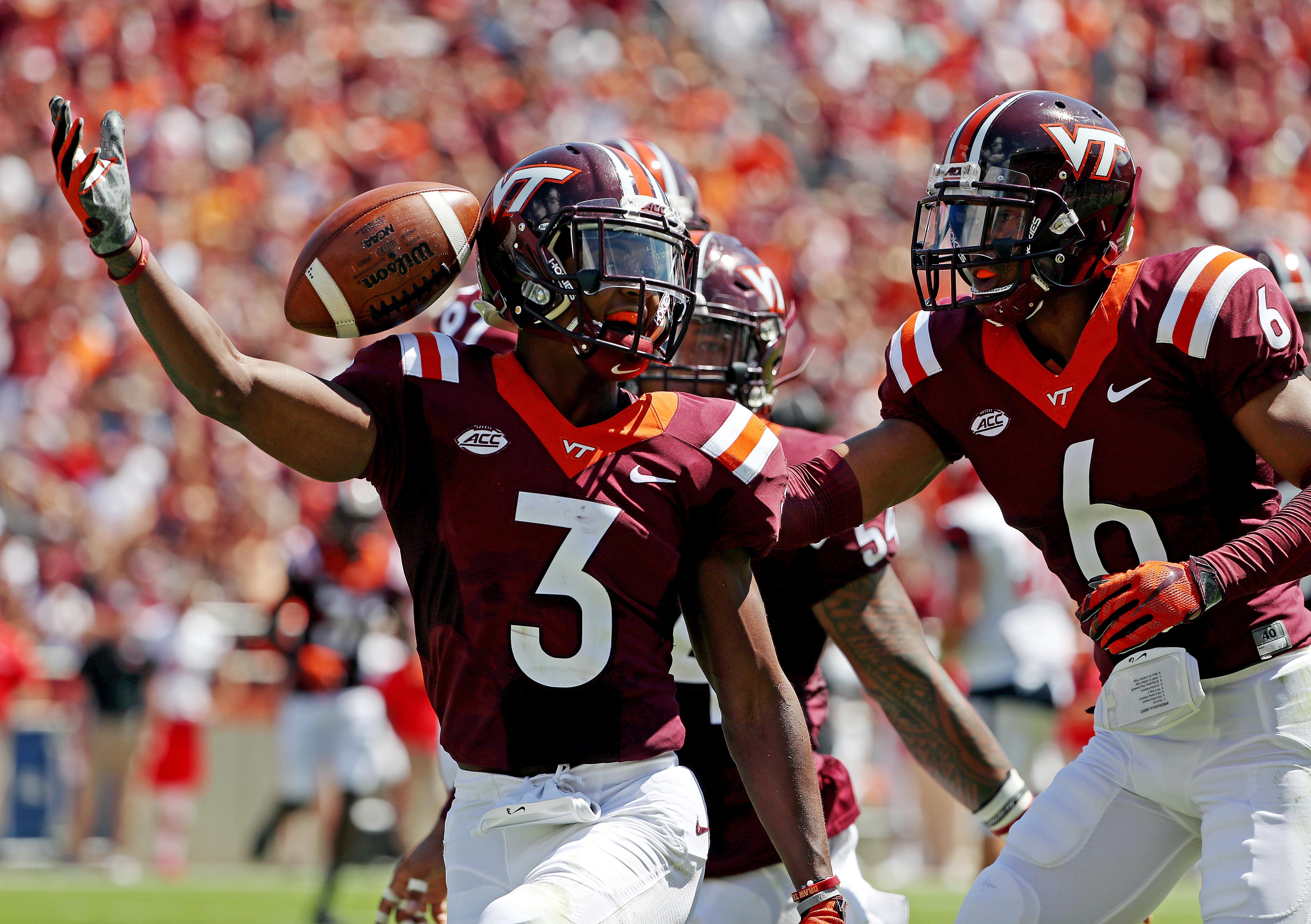NCAA Football: Liberty at Virginia Tech