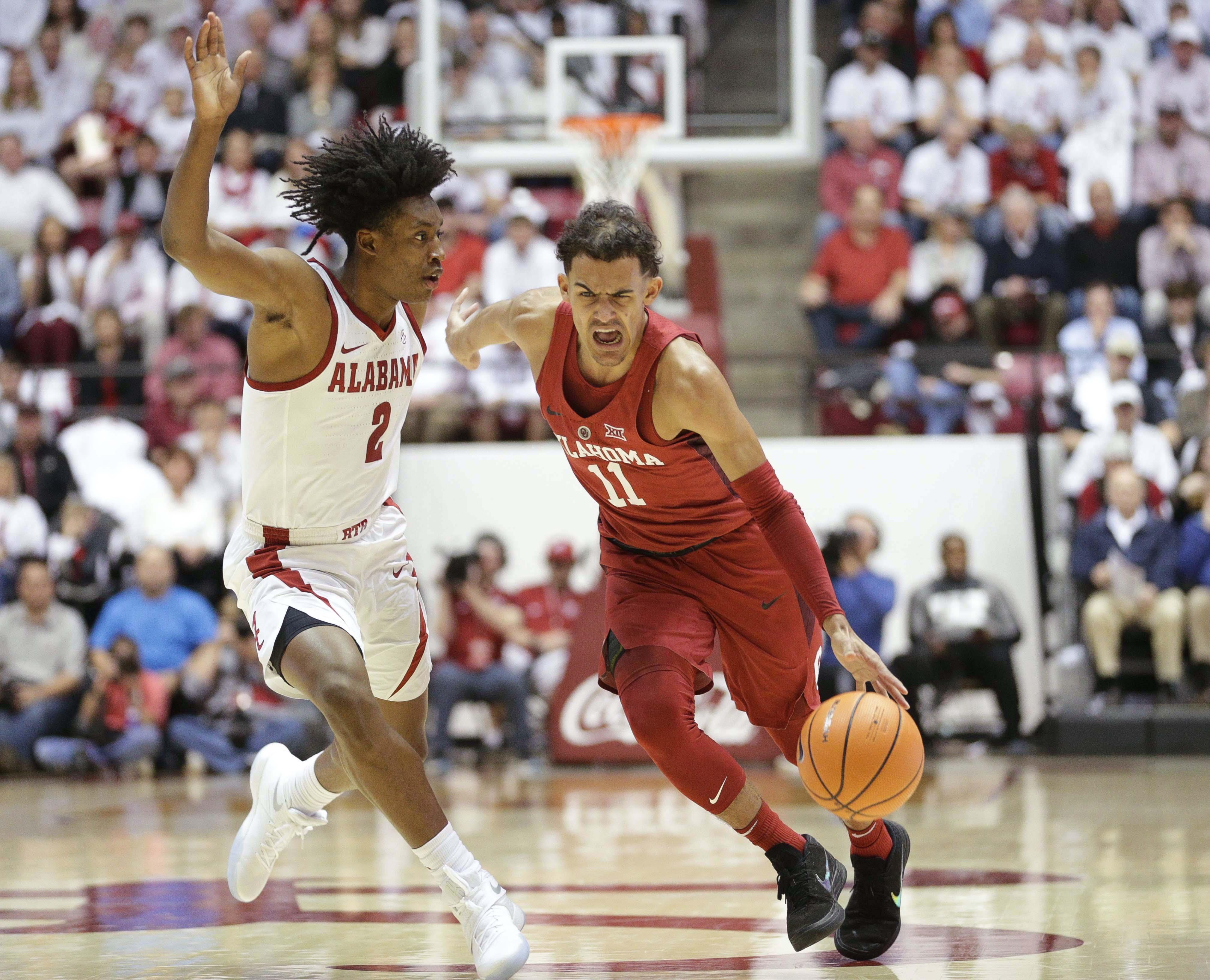 NCAA Basketball: Oklahoma at Alabama