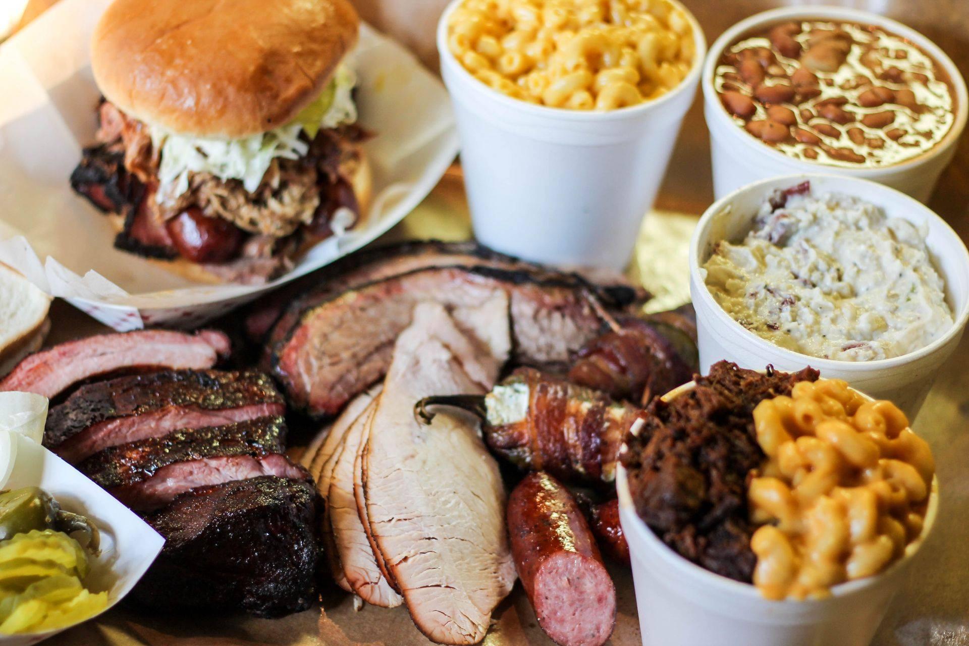 Barbecue from Alamo BBQ Co. in San Antonio