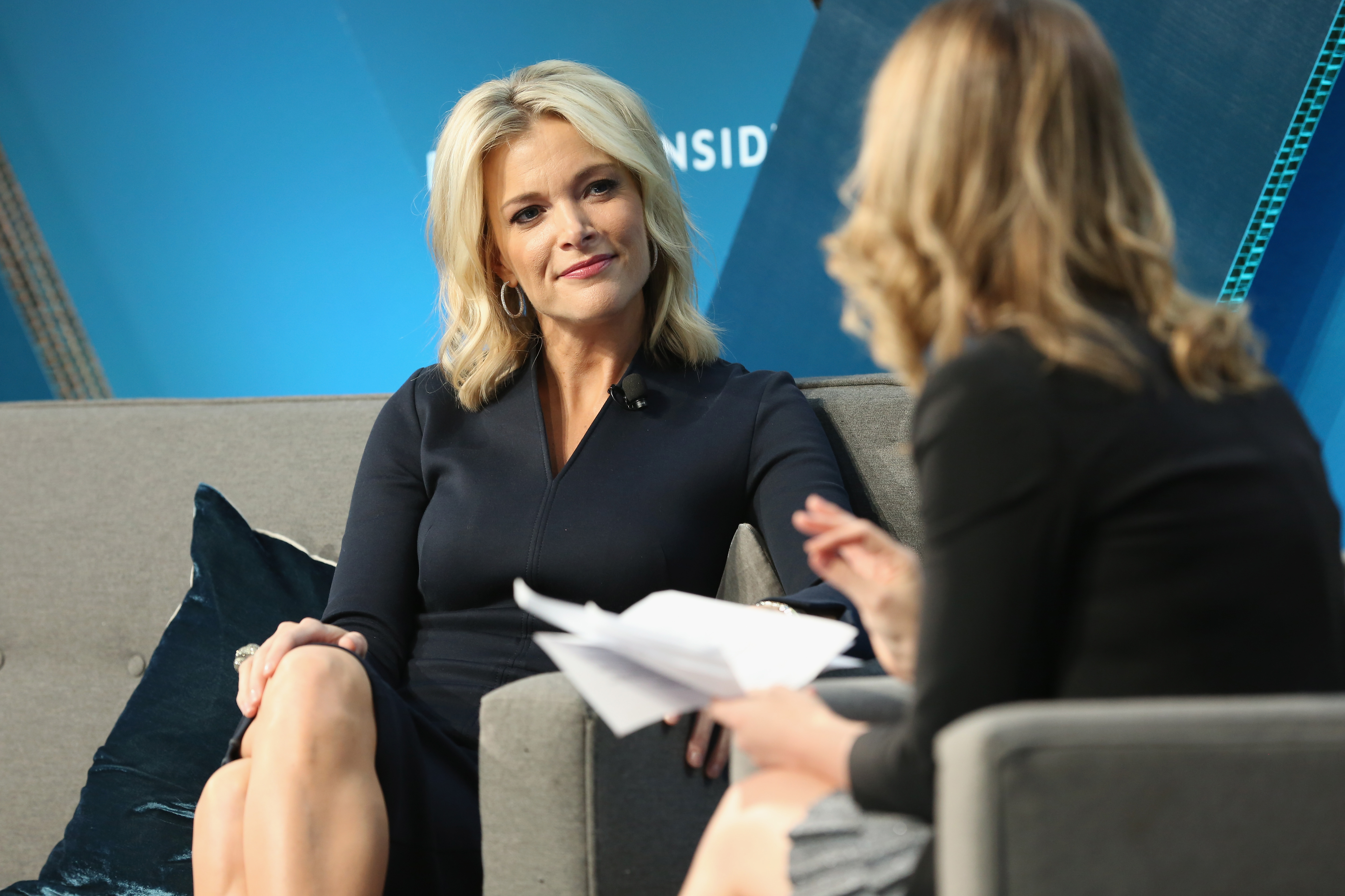 Megyn Kelly speaks onstage with Alyson Shontell at IGNITION: Future of Media