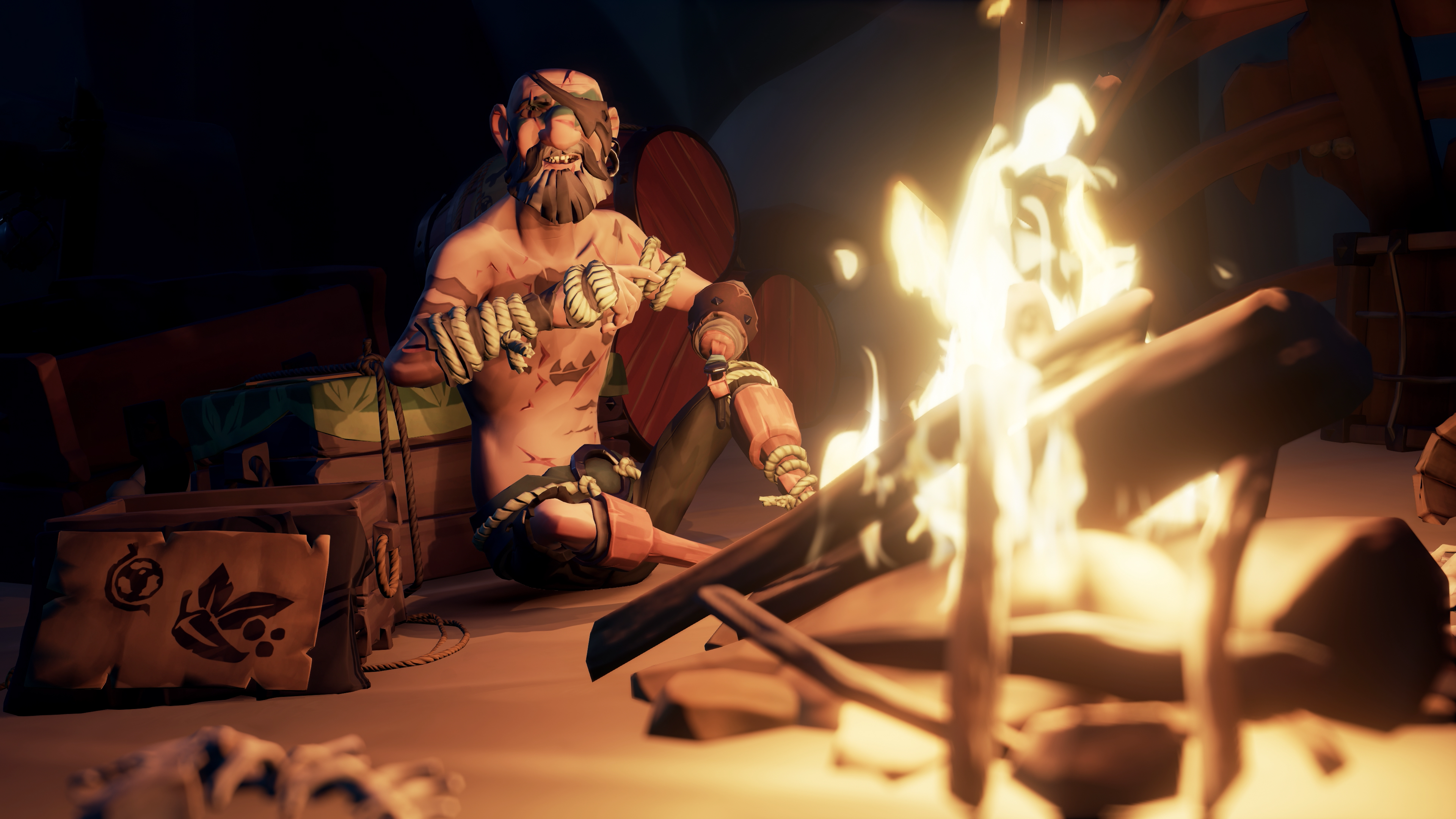 """""""Merry"""" Merrick waits to help players uncover the Hungering Deep"""