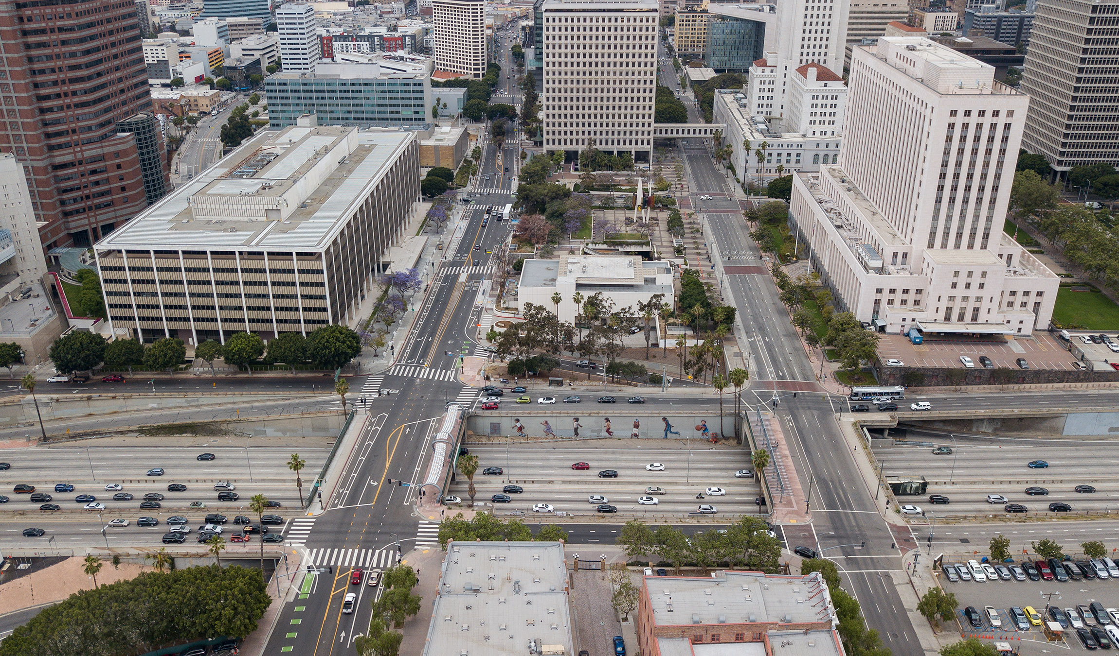 Heres Where The 101 Freeway Cap Park Could Transform Downtown LA