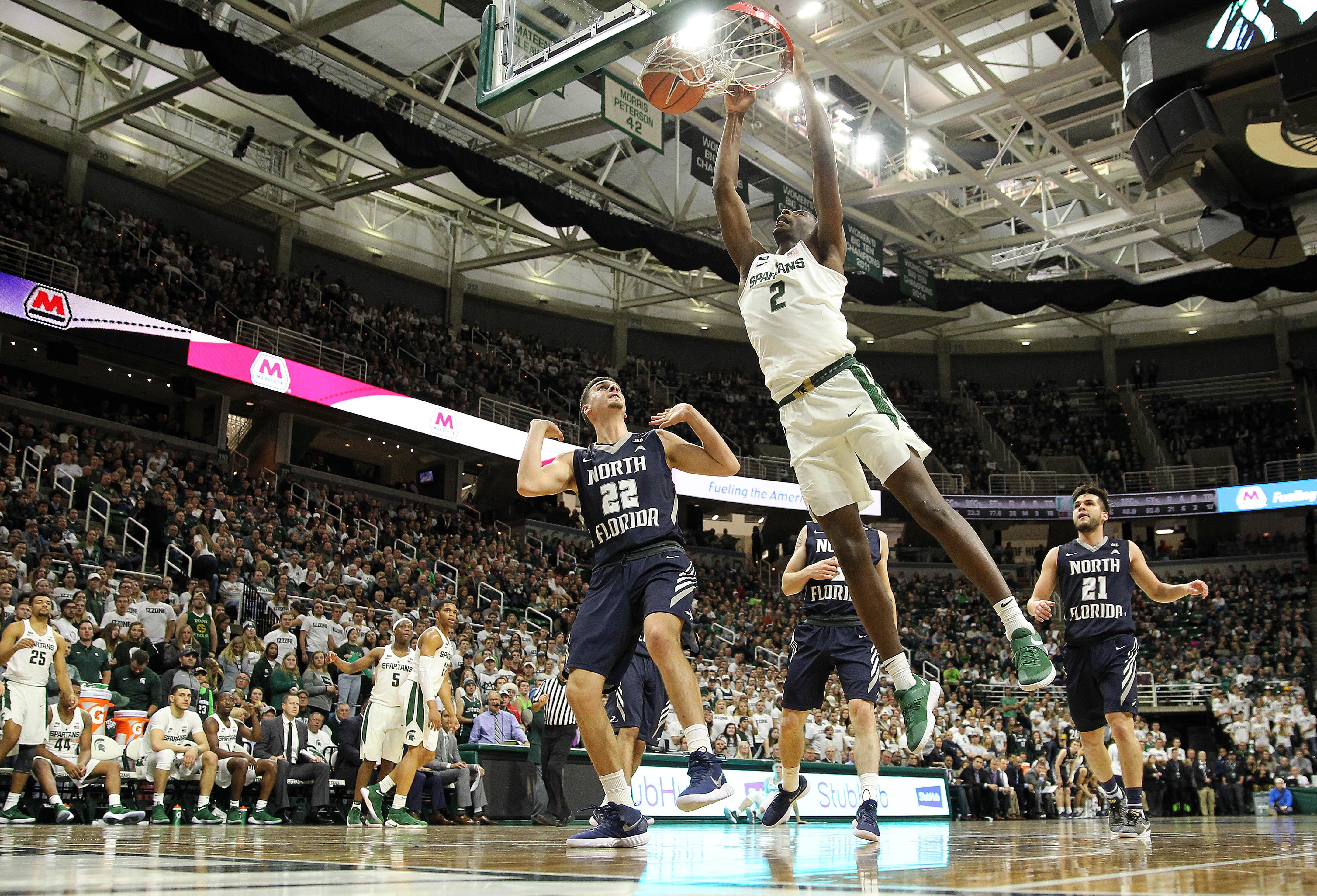 NCAA Basketball: North Florida at Michigan State