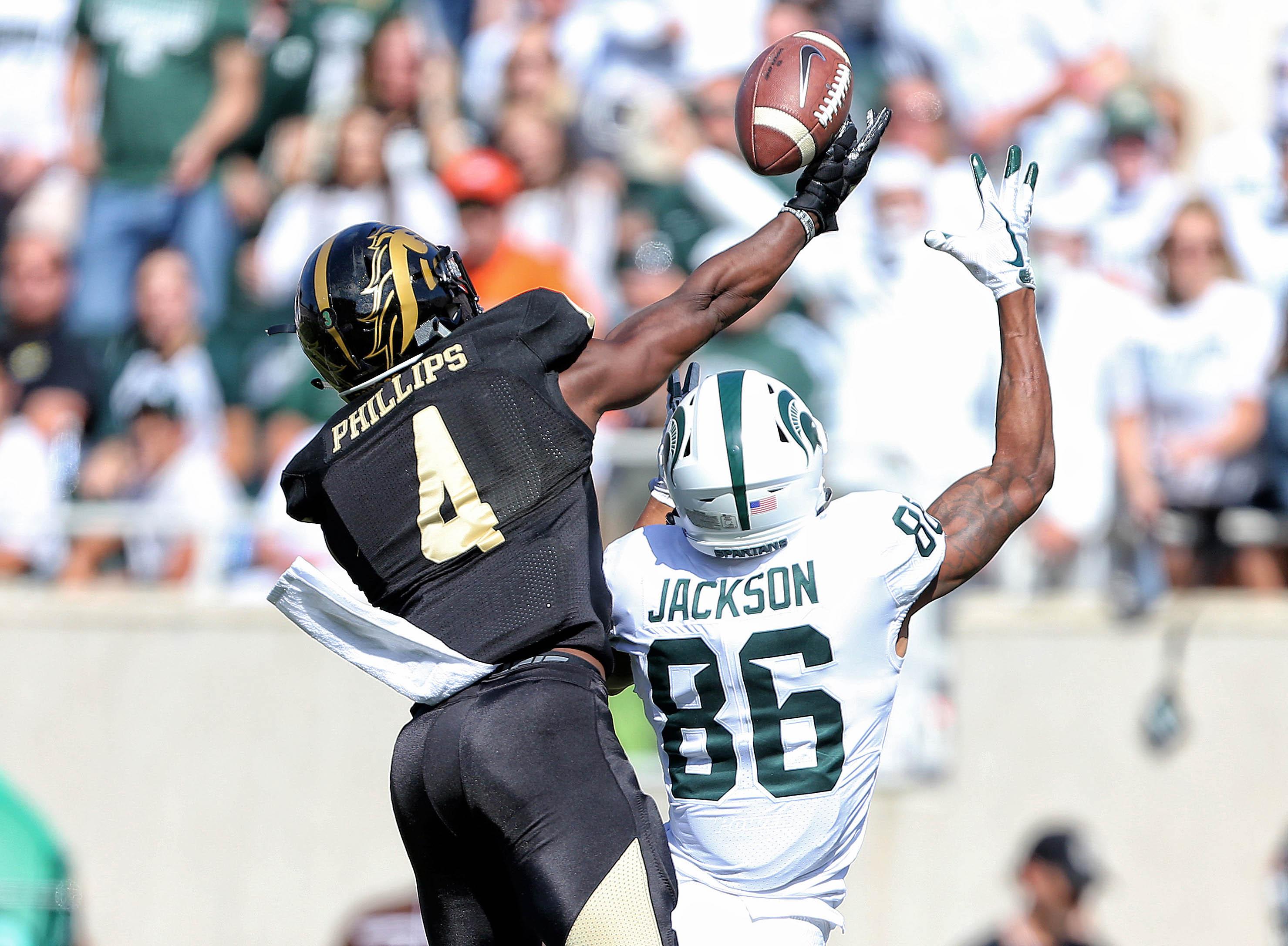 NCAA Football: Western Michigan at Michigan State
