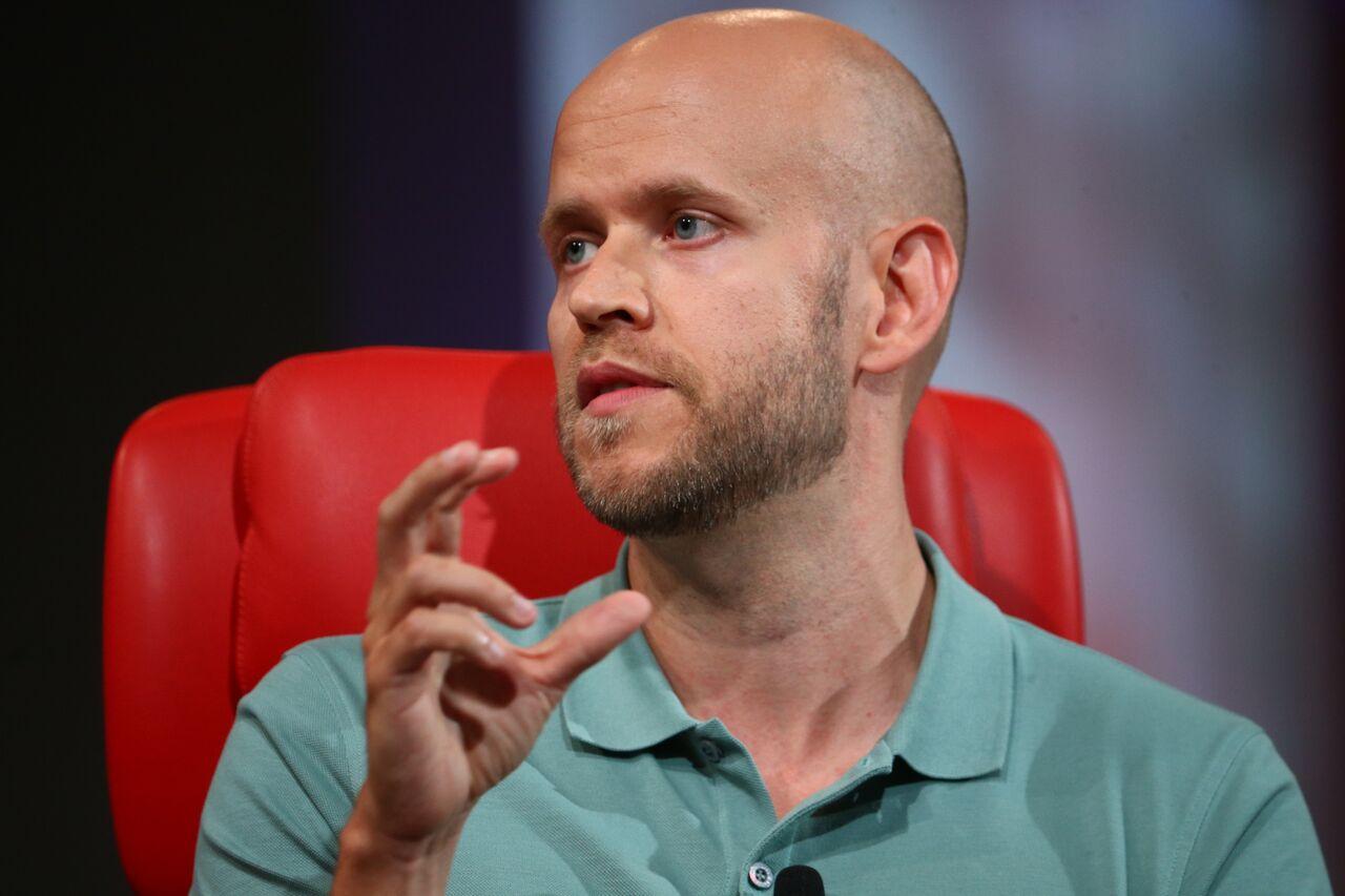 Spotify CEO Daniel Ek.