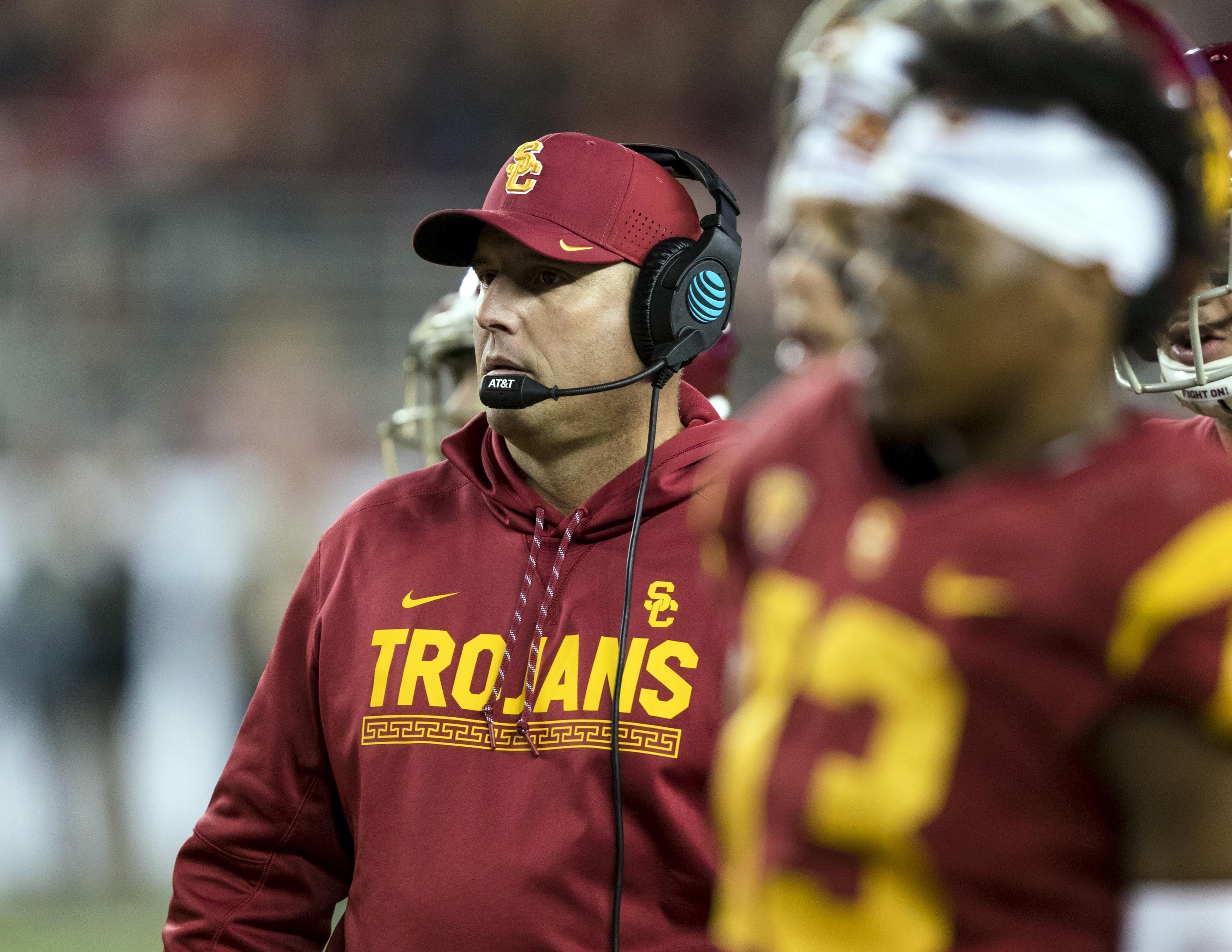 41463147aa0 USC football preview 2018  A decisive year for Clay Helton ...