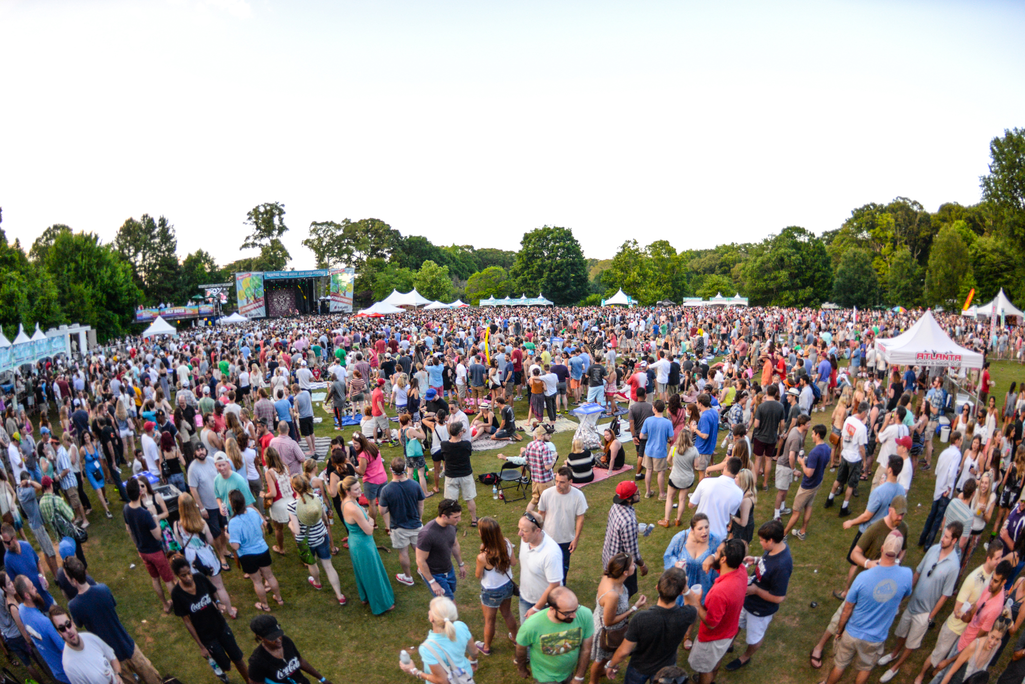 A photo of The Candler Park Music Festival, held June 1 and 2 this year.