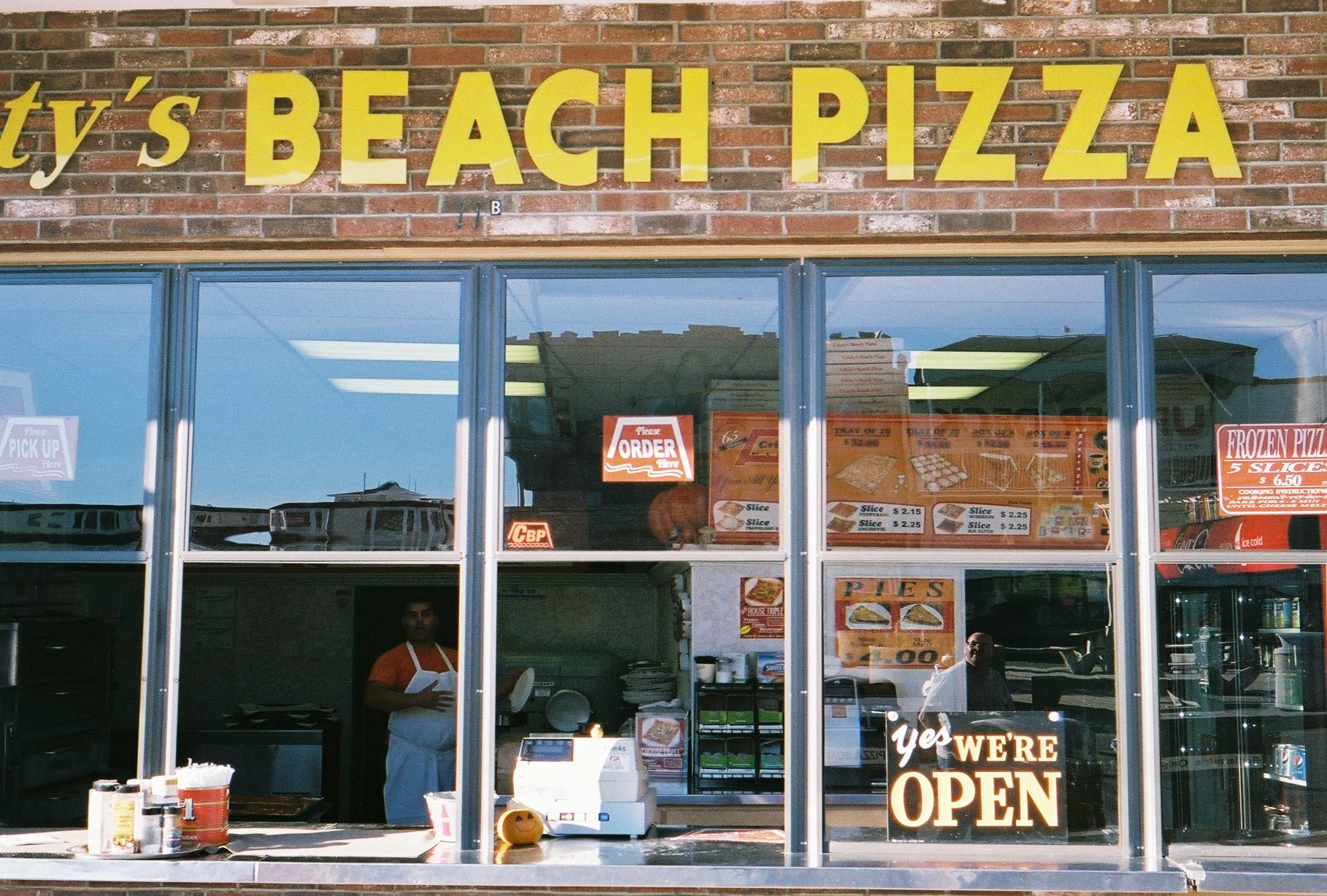 beach pizza salisbury