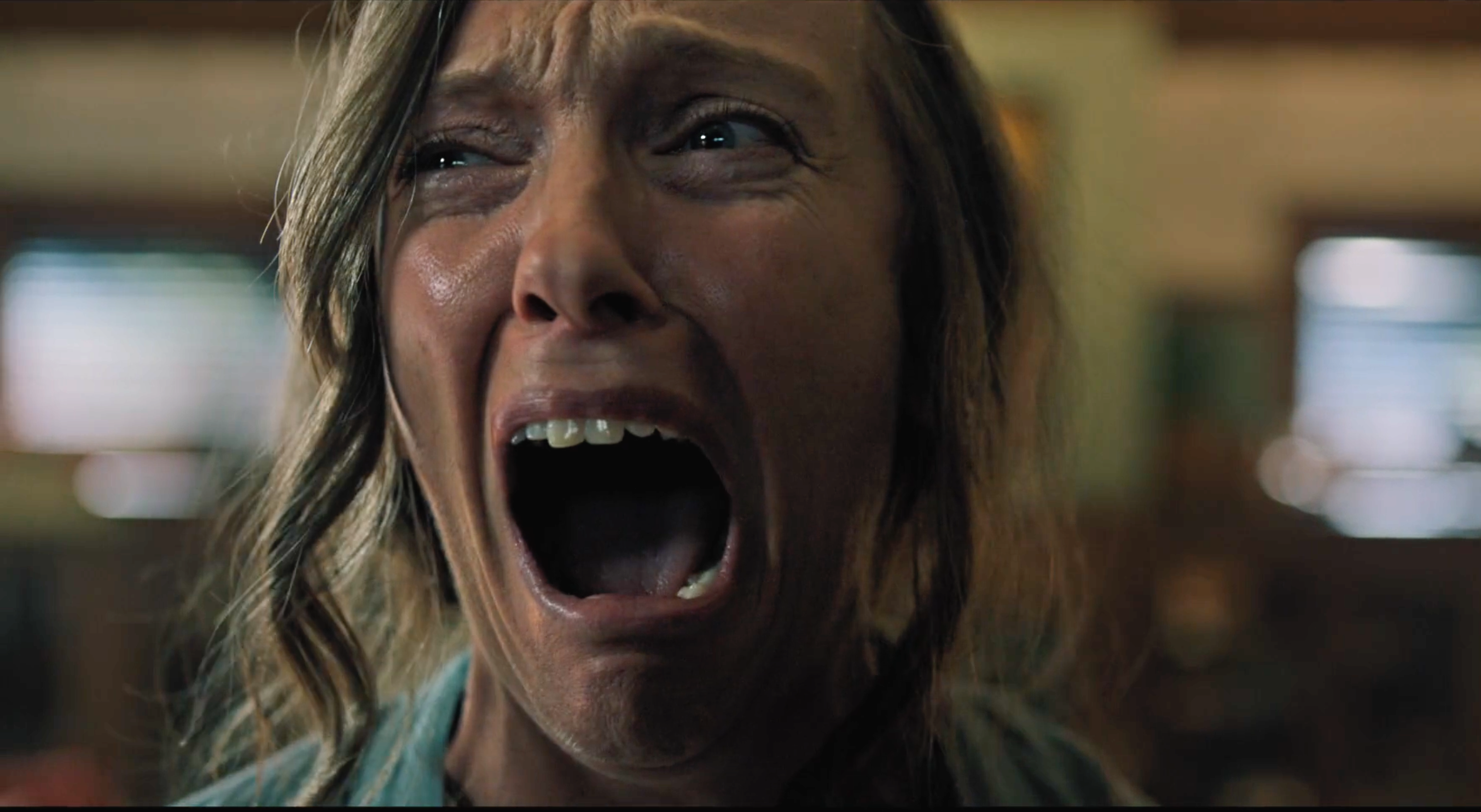 Toni Collette stars, terrifyingly and terrified, in Hereditary.