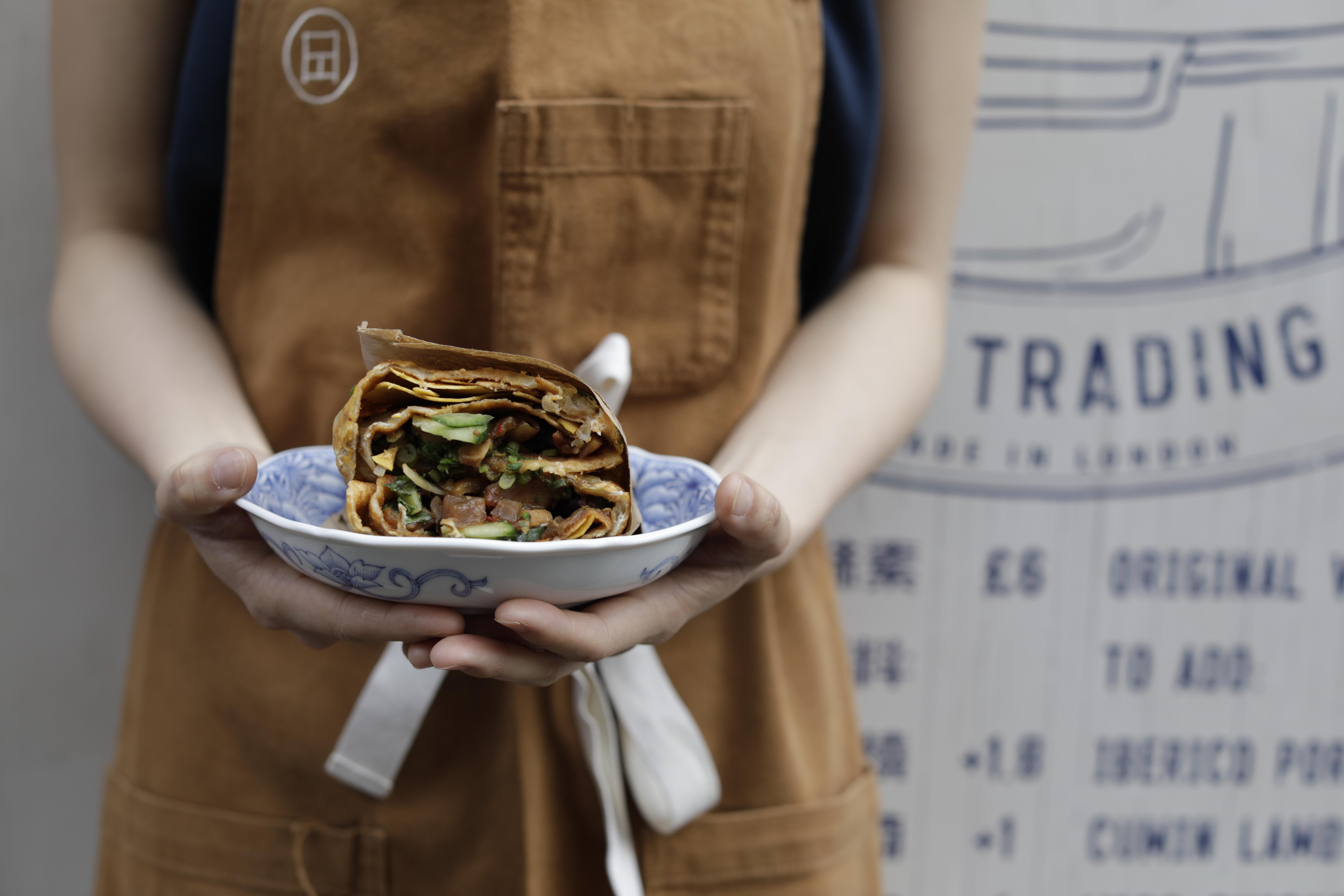 Pleasant Lady Jian Bing's jianbing is one of London's best street foods