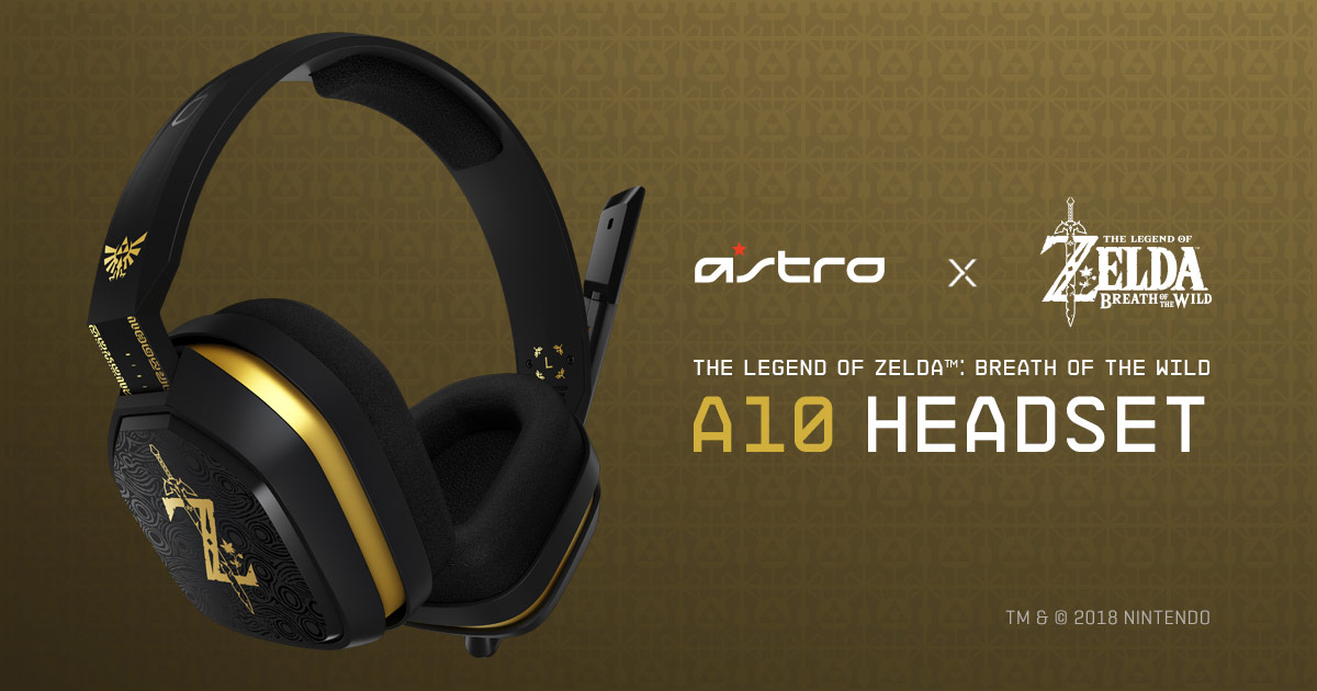 Astro teams with Nintendo for gorgeous Breath of the Wild headset