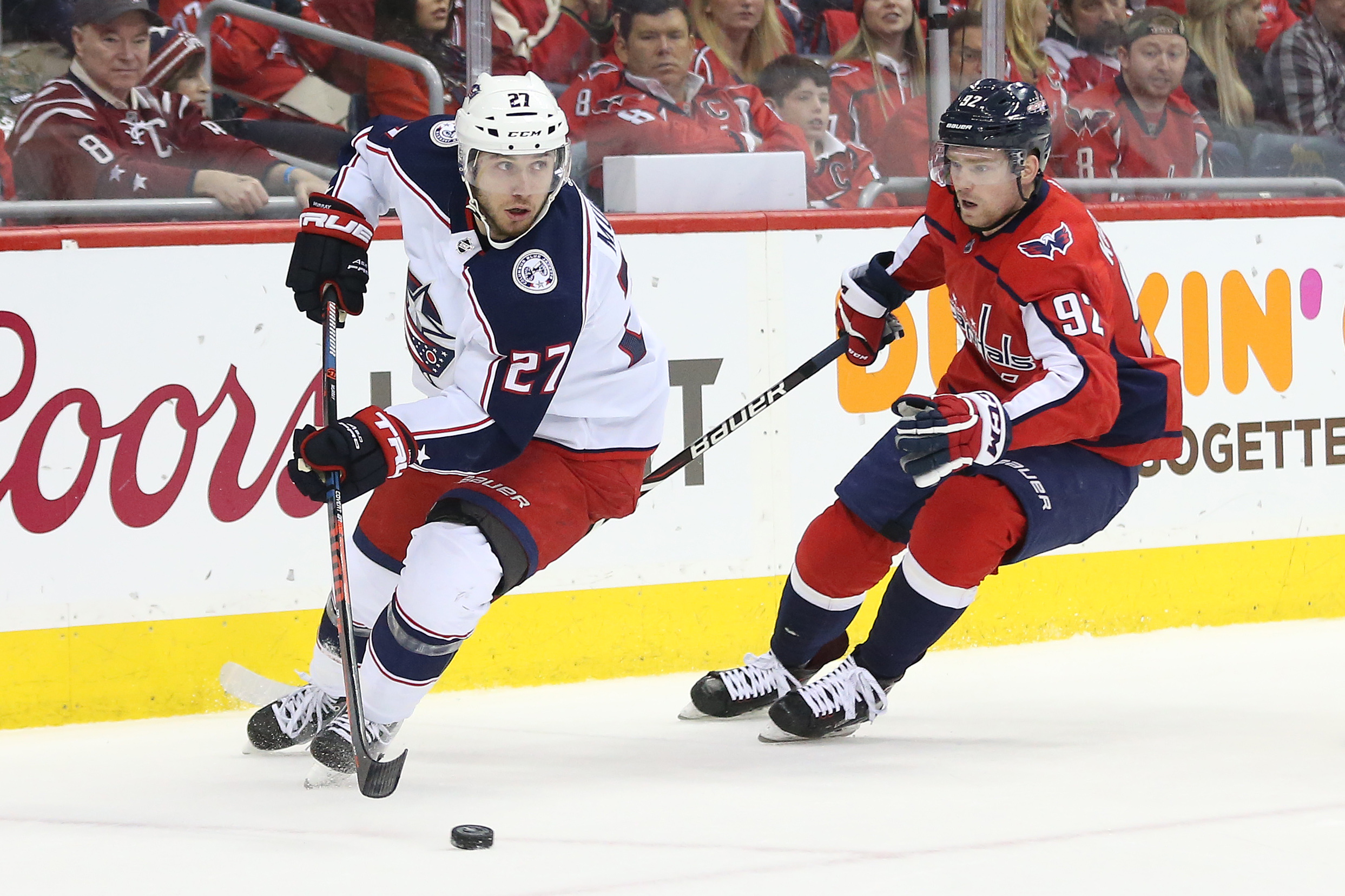 NHL: Stanley Cup Playoffs-Columbus Blue Jackets at Washington Capitals