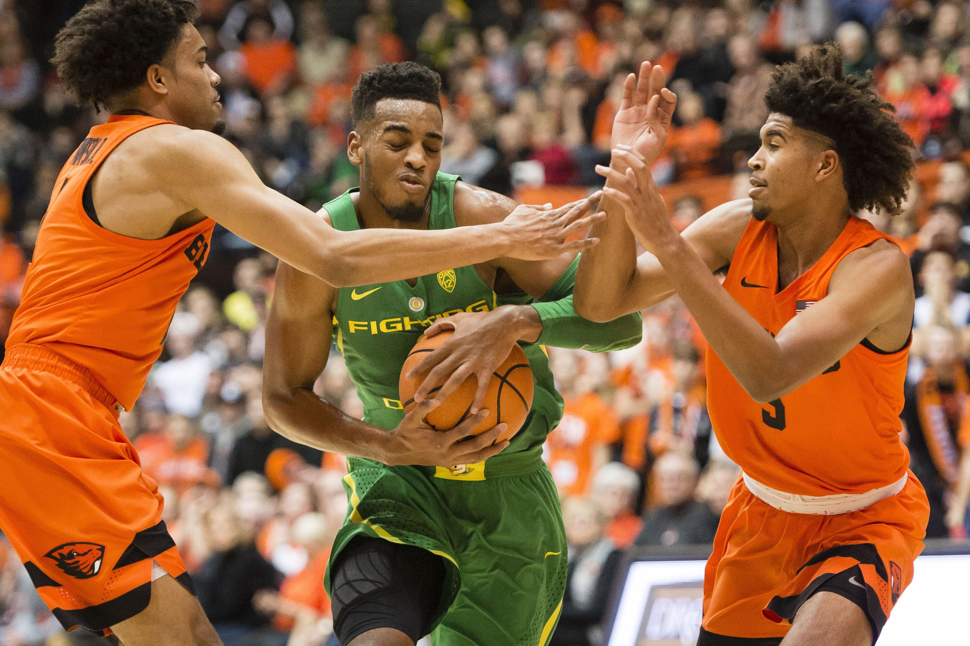 NCAA Basketball: Oregon at Oregon State