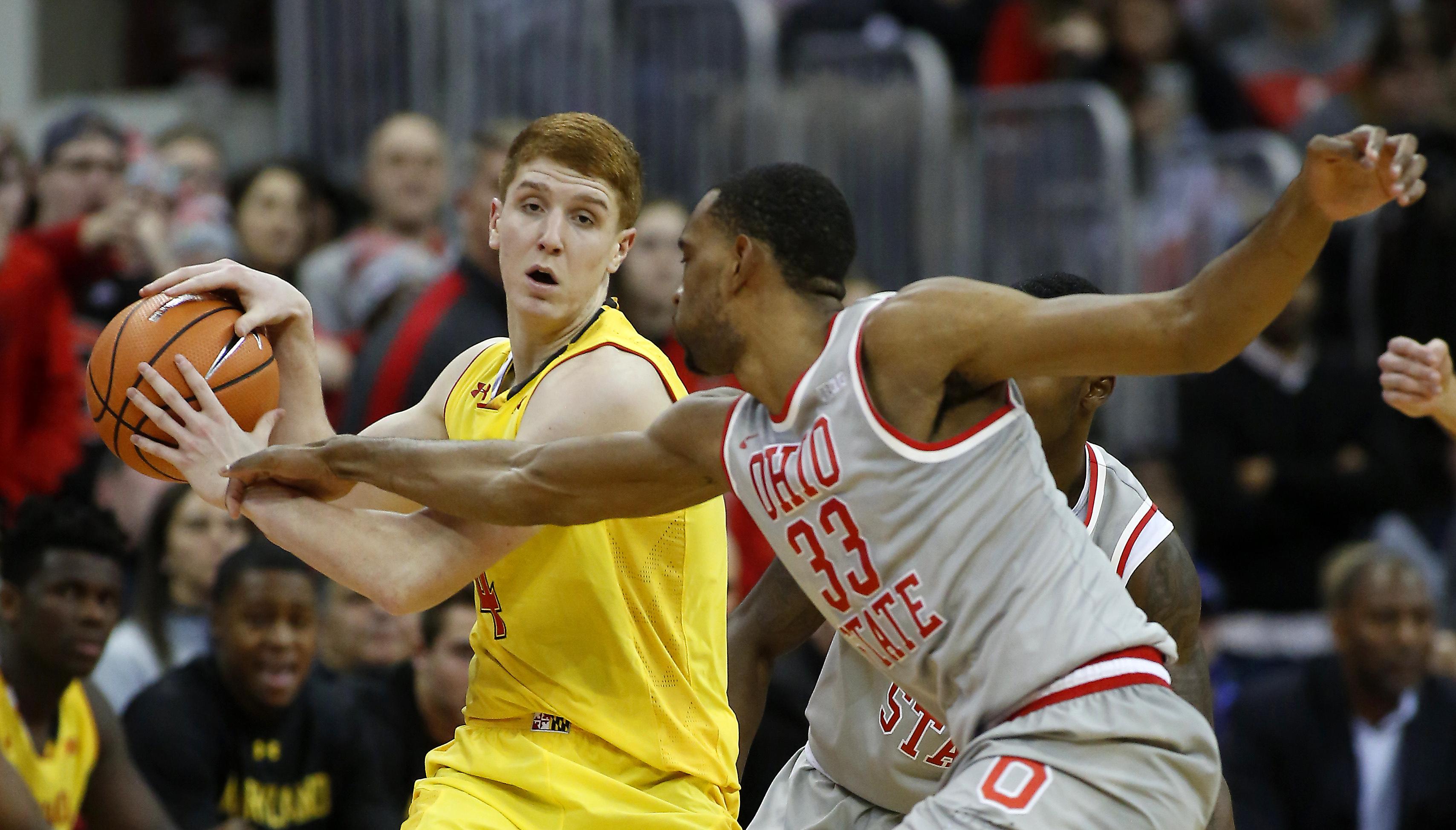 NCAA Basketball: Maryland at Ohio State