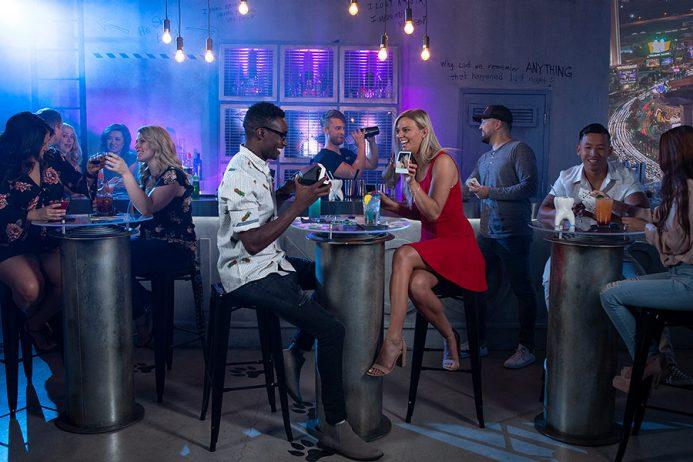 The Hangover Bar at Madame Tussauds