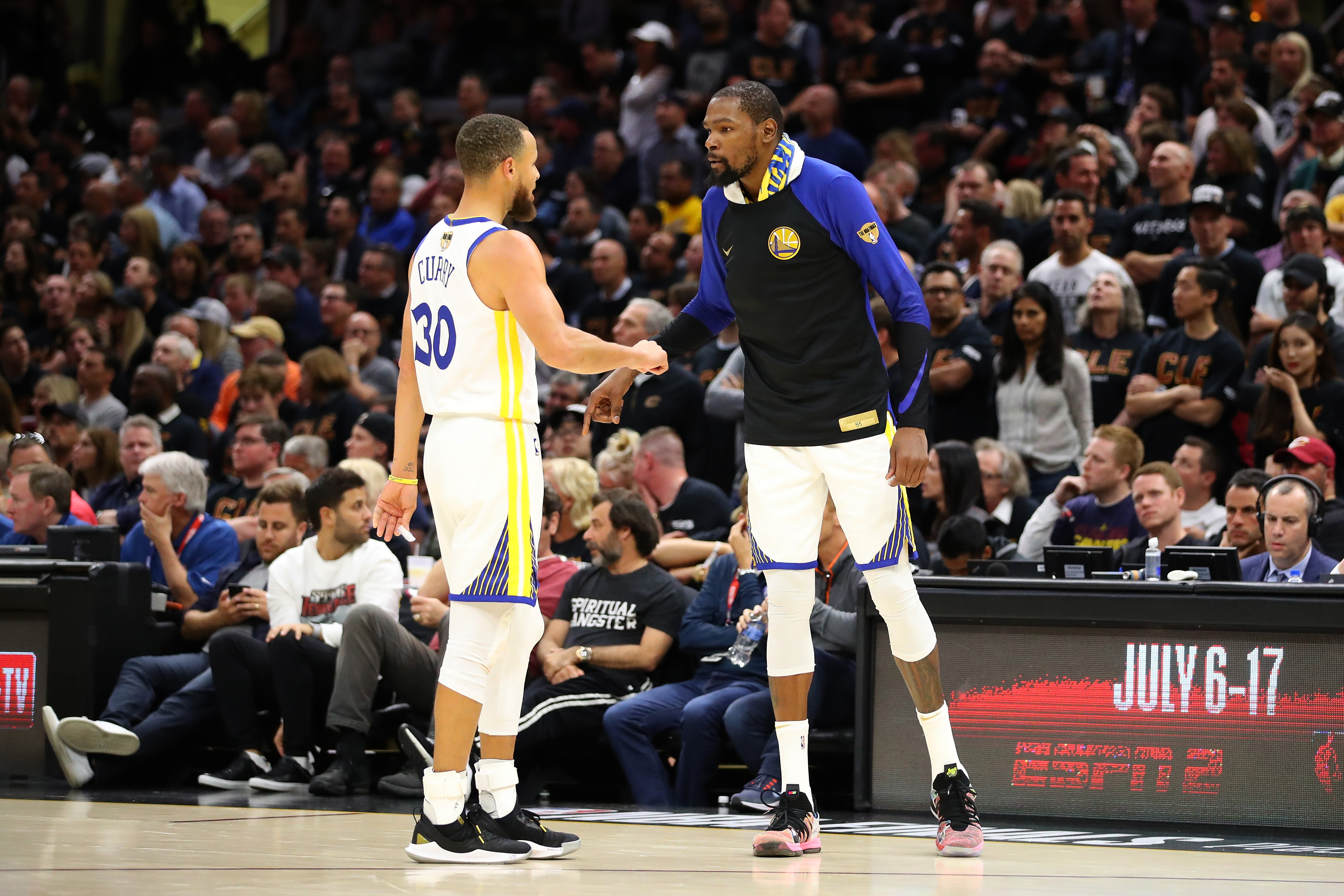 0dde8b59174 Kevin Durant vs. Stephen Curry for MVP was the only NBA Finals suspense  left. Durant won
