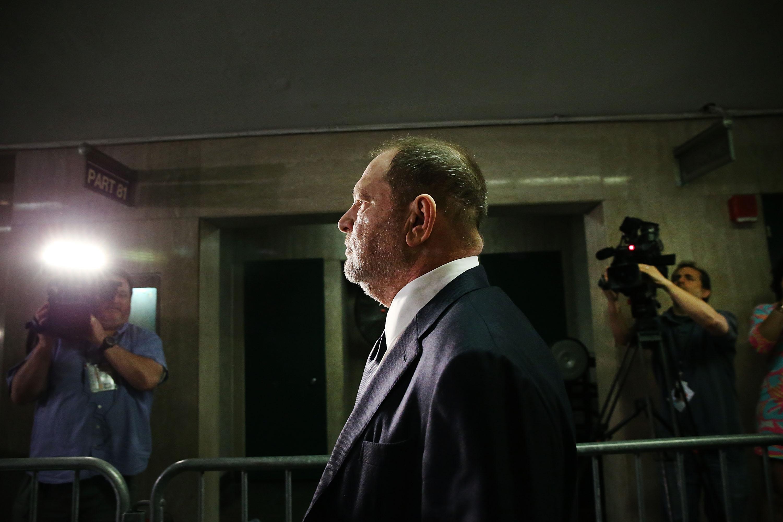 Former movie producer Harvey Weinstein in June 2018