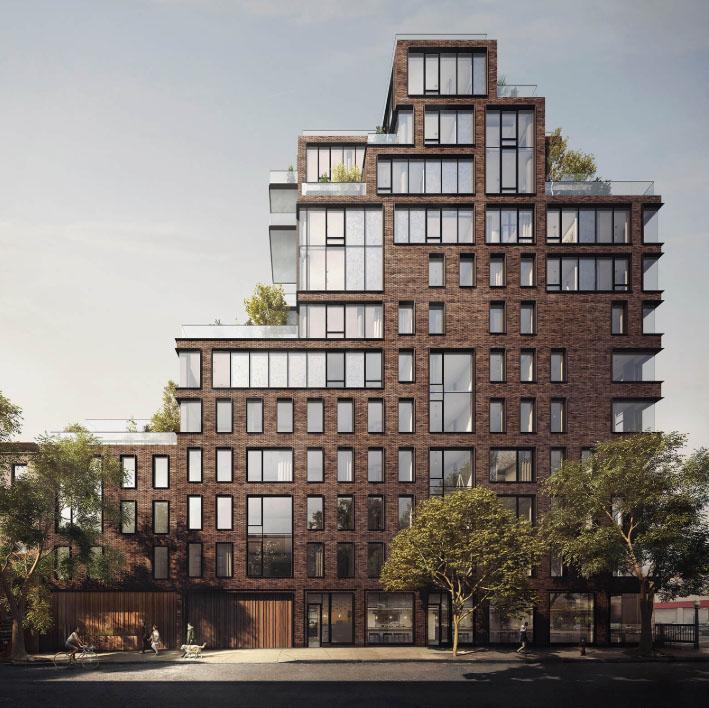 First Look At Oda New York S Church Replacing Boerum Hill Condos Brooklyn