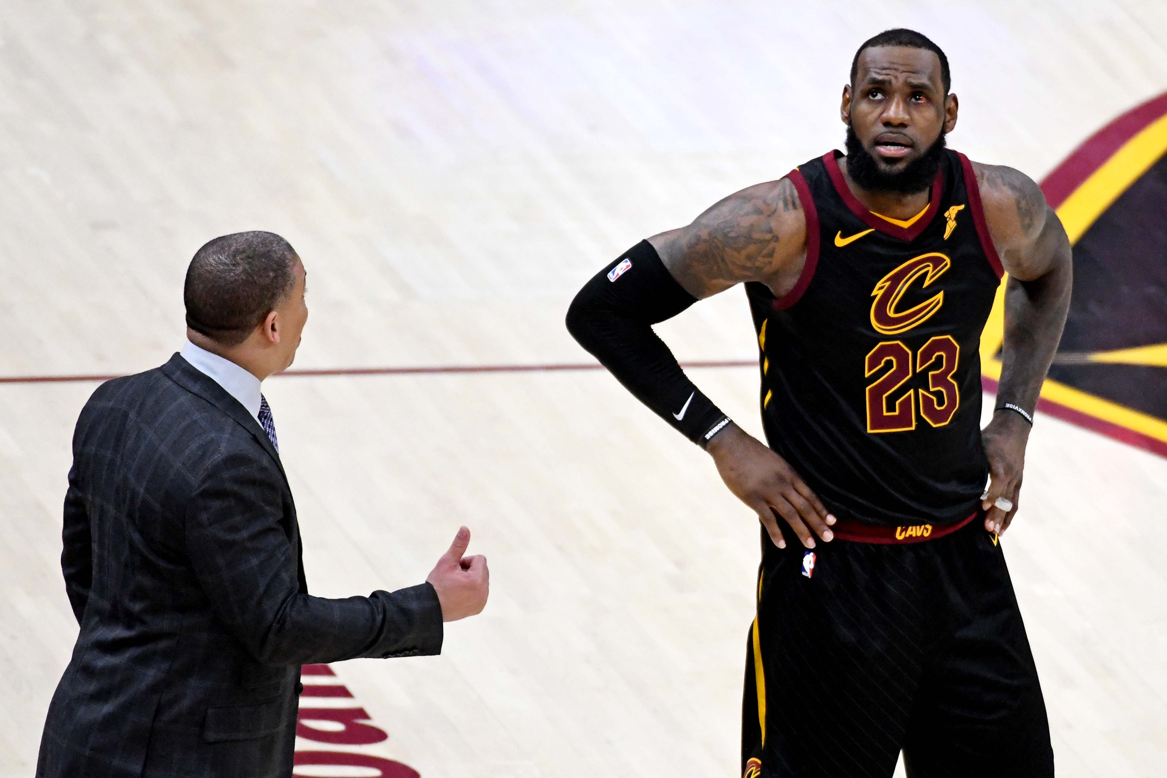 9051cb29d886 The last time LeBron James looked this helpless in an NBA Finals was in 2014