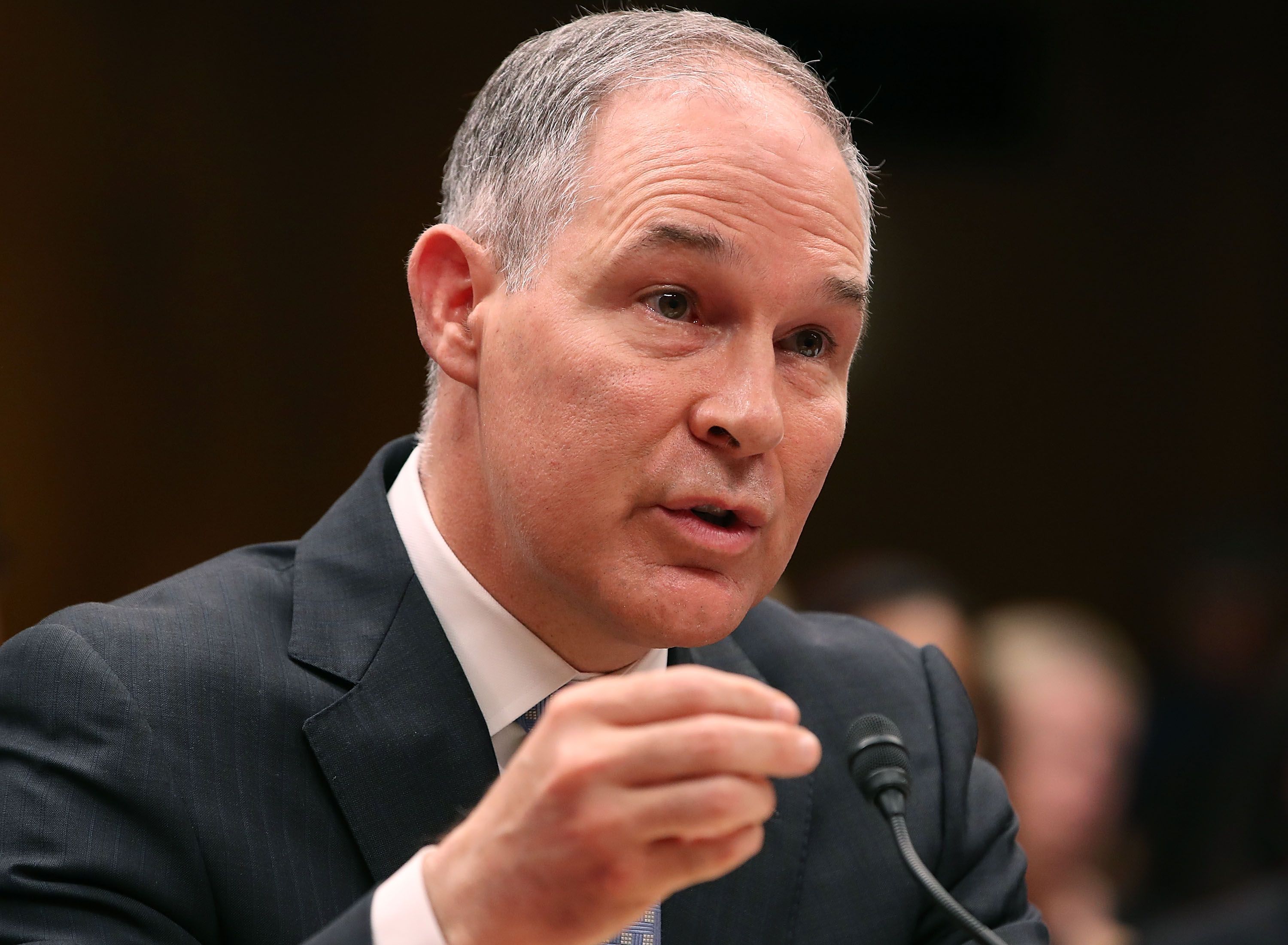 Scott Pruitt Ate at the White House Mess So Often They Asked Him to Stop