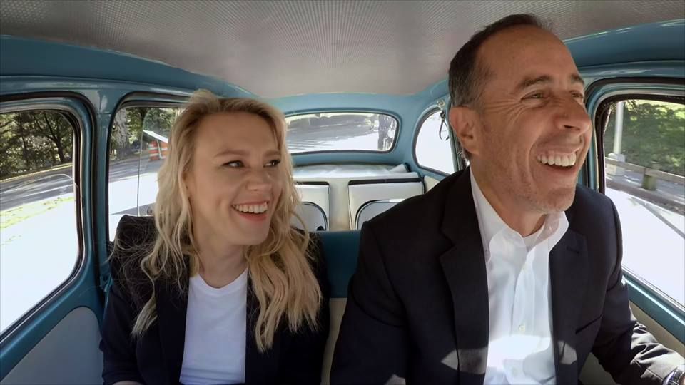 Kate McKinnon and Jerry Seinfeld on Comedians in Cars Getting Coffee