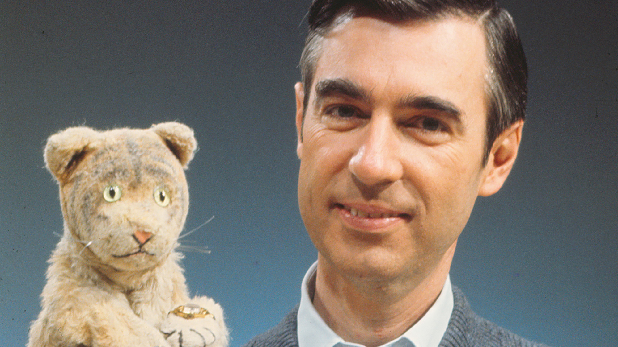 Fred Rogers (and Daniel Tiger) is the subject of Won't You Be My Neighbor, a new documentary.
