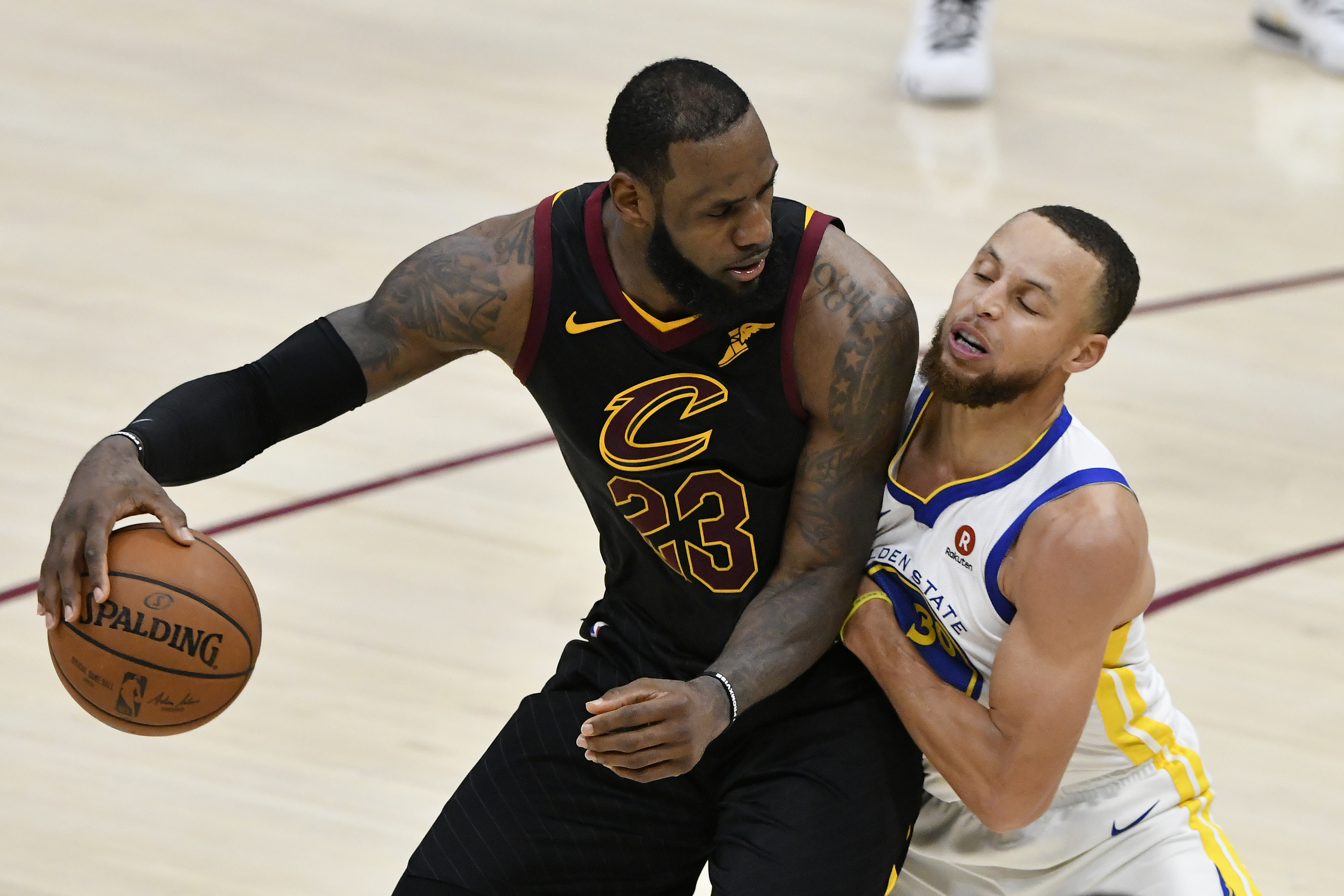 6693213b16bd LeBron James lays out the importance of basketball IQ in beating the  Warriors