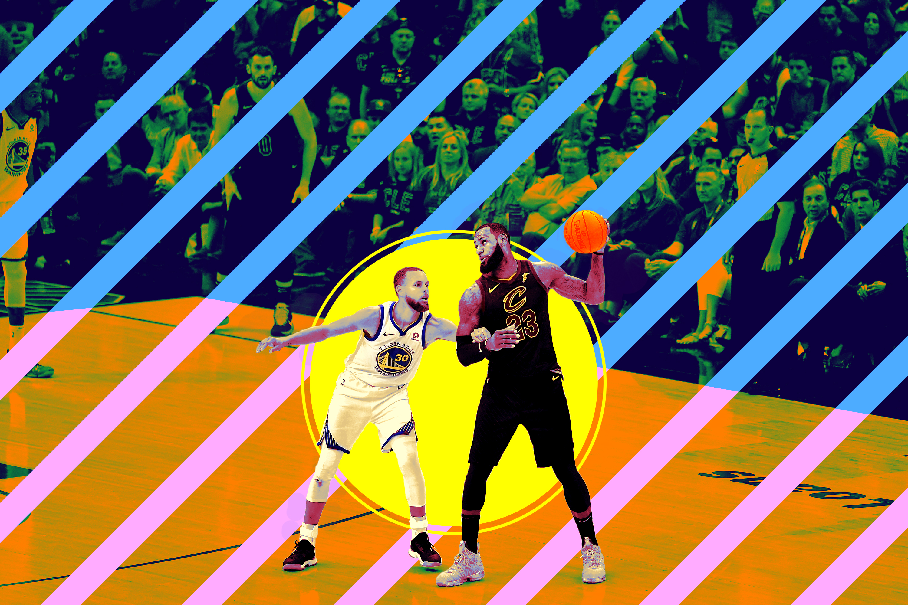 3658369b6d1a Why Isn t LeBron James Dominating the Mismatch Against Steph Curry ...