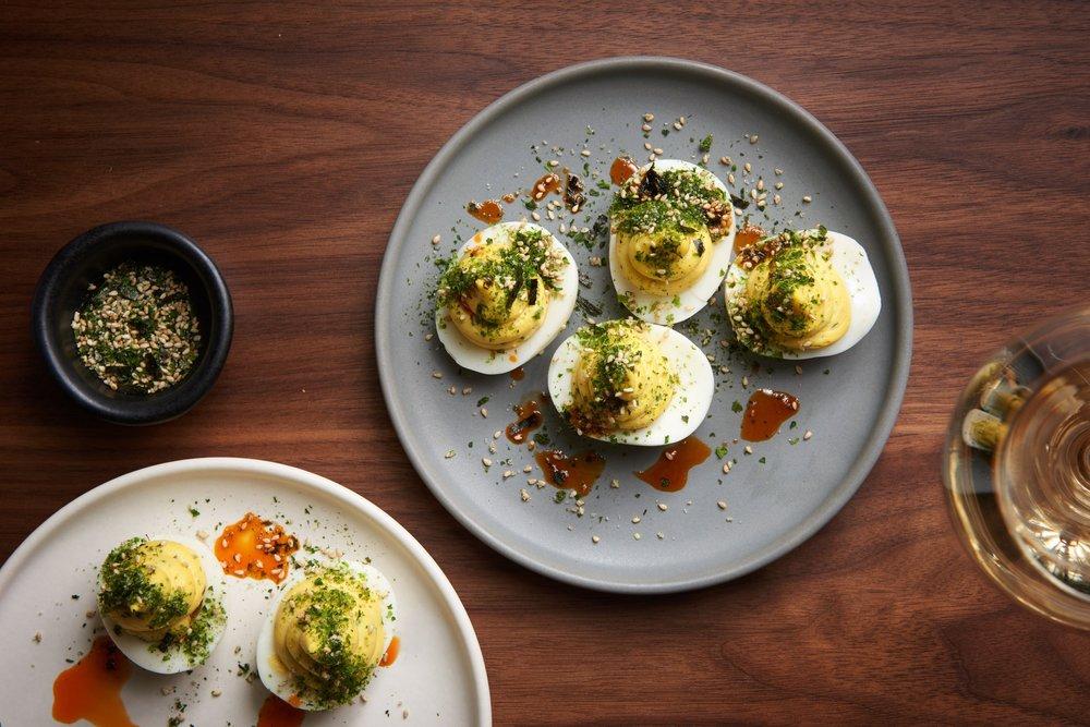 Alta deviled eggs