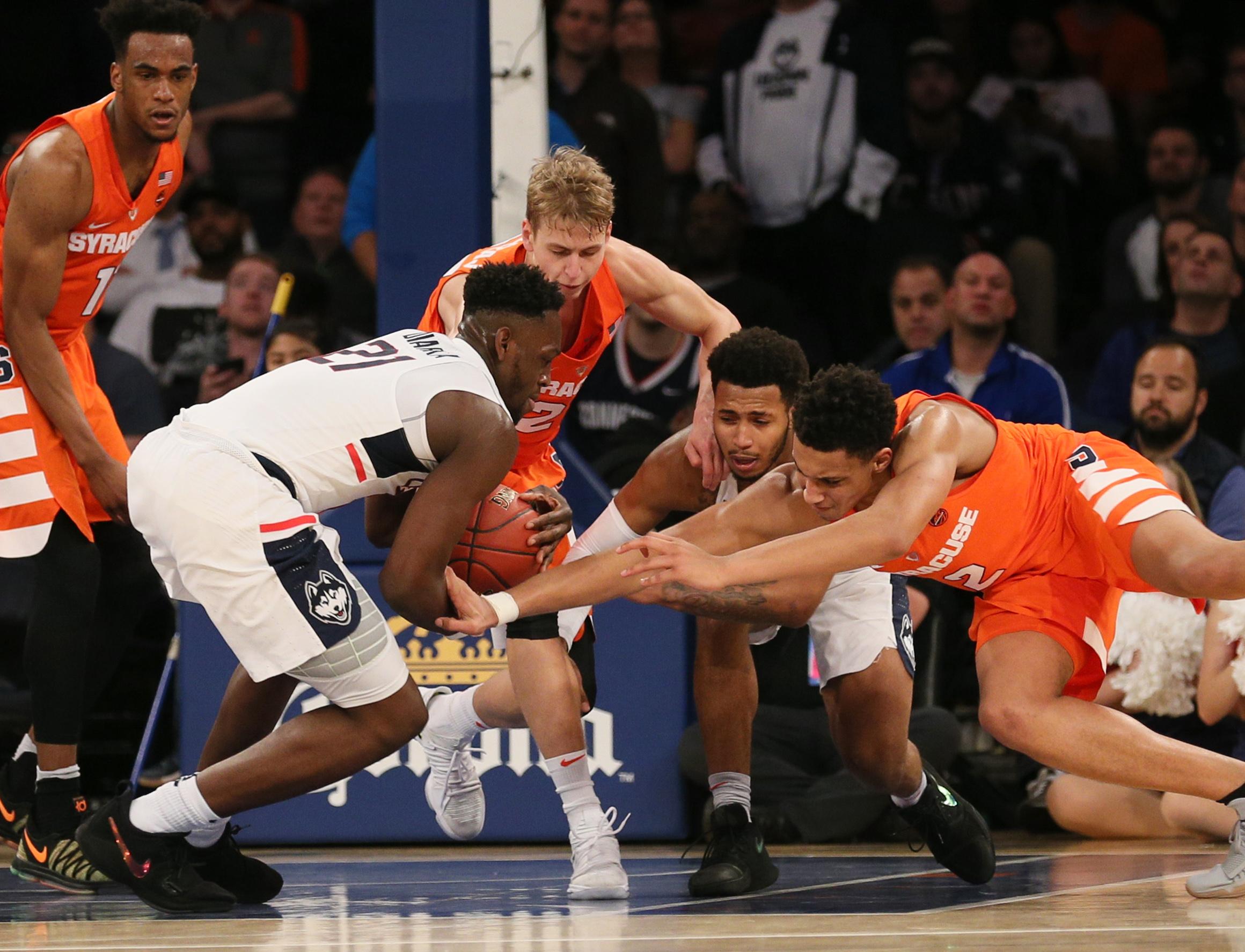 NCAA Basketball: Connecticut at Syracuse