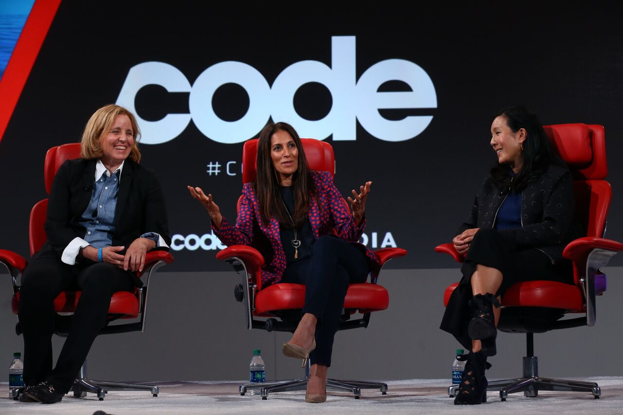 left to right, Megan Smith, Sukhinder Singh Cassidy, Aileen Lee