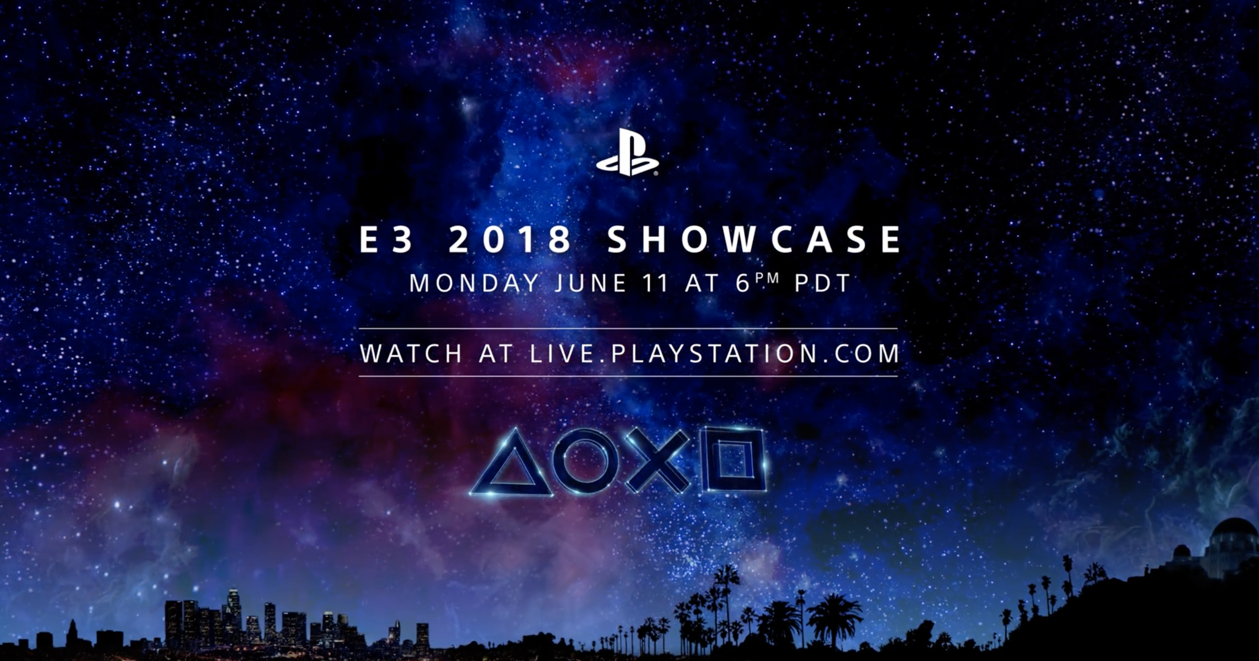 Sony's E3 2018 PlayStation Showcase: start time, live stream