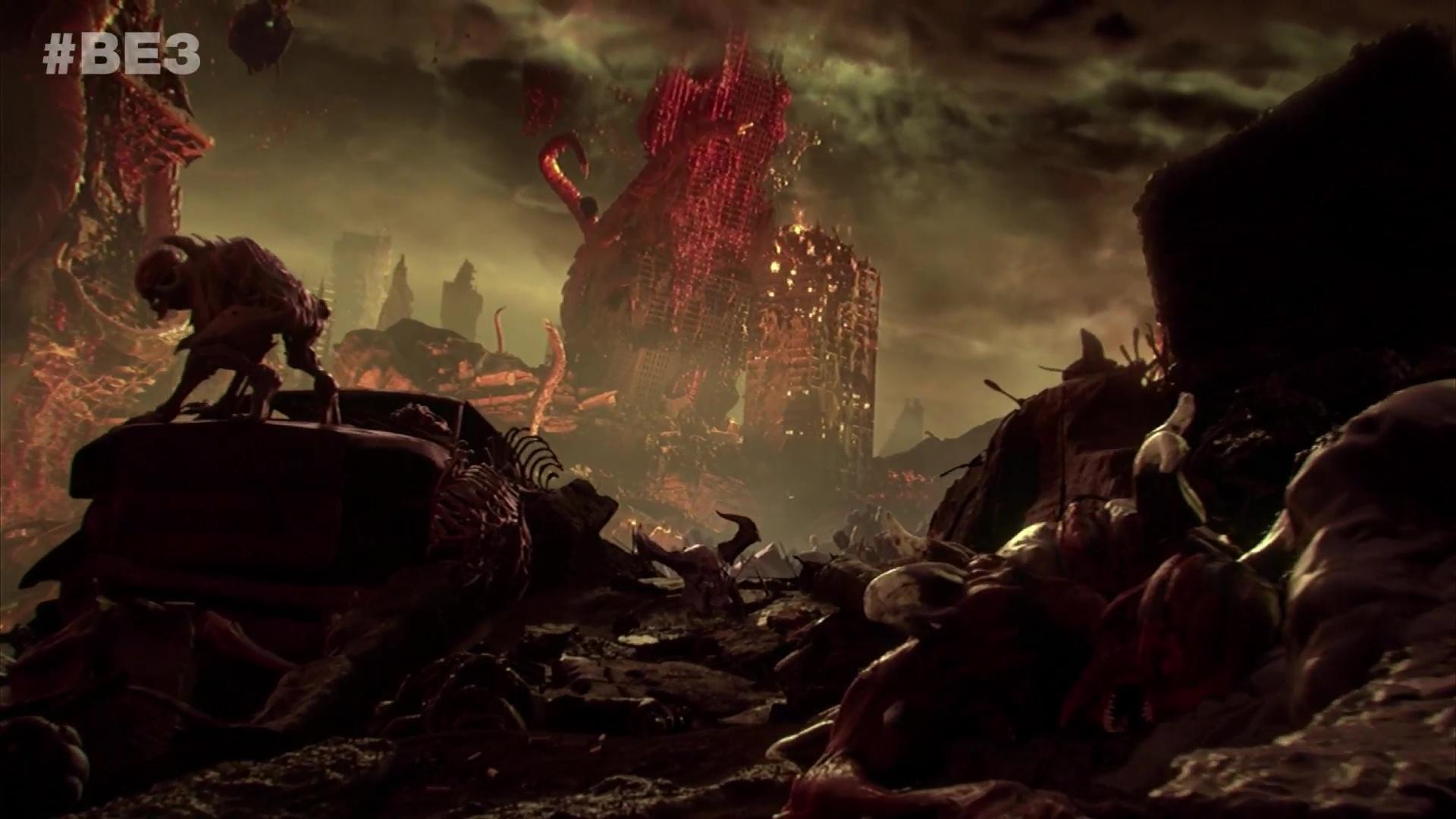 Doom Eternal announced with fiery trailer - Polygon
