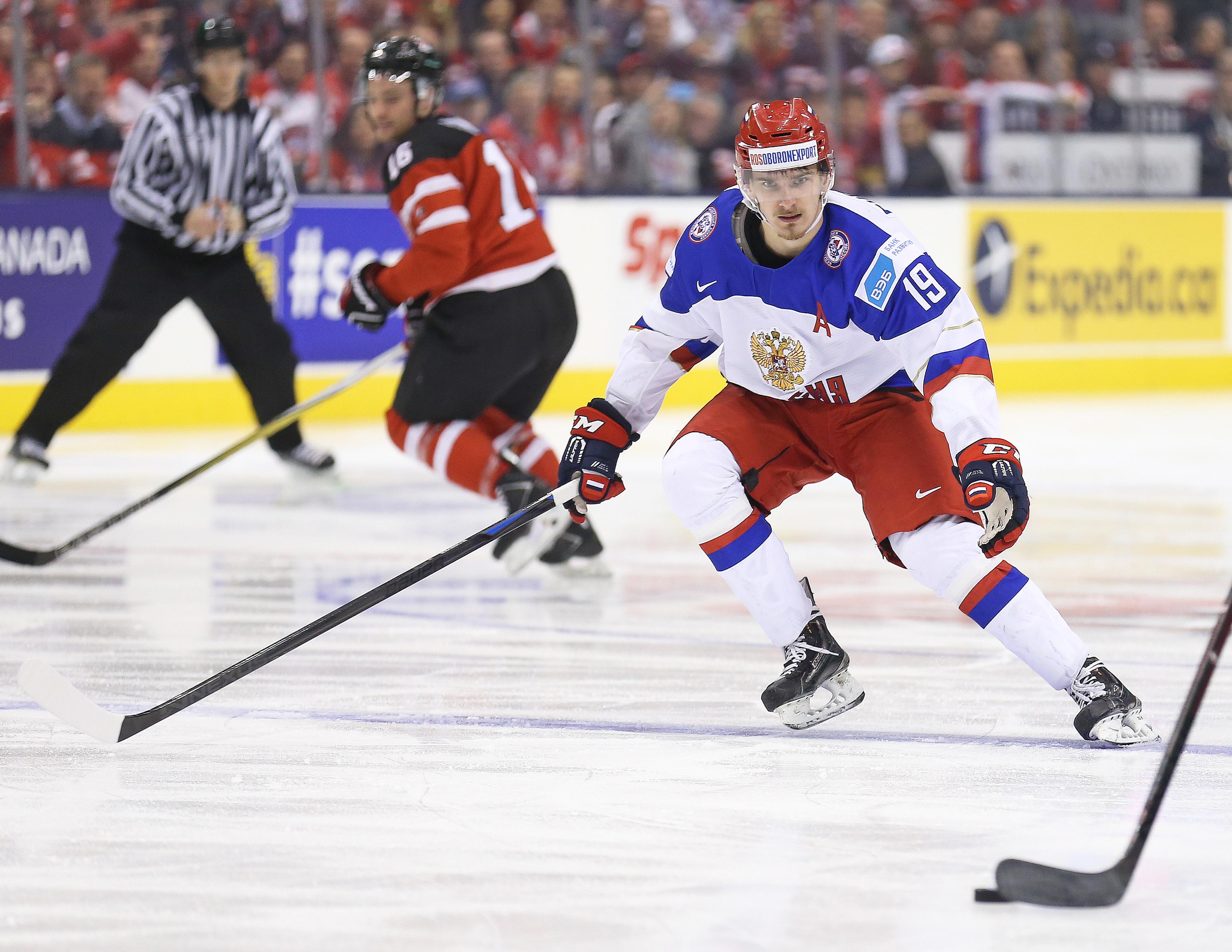 Team Canada v Team Russia